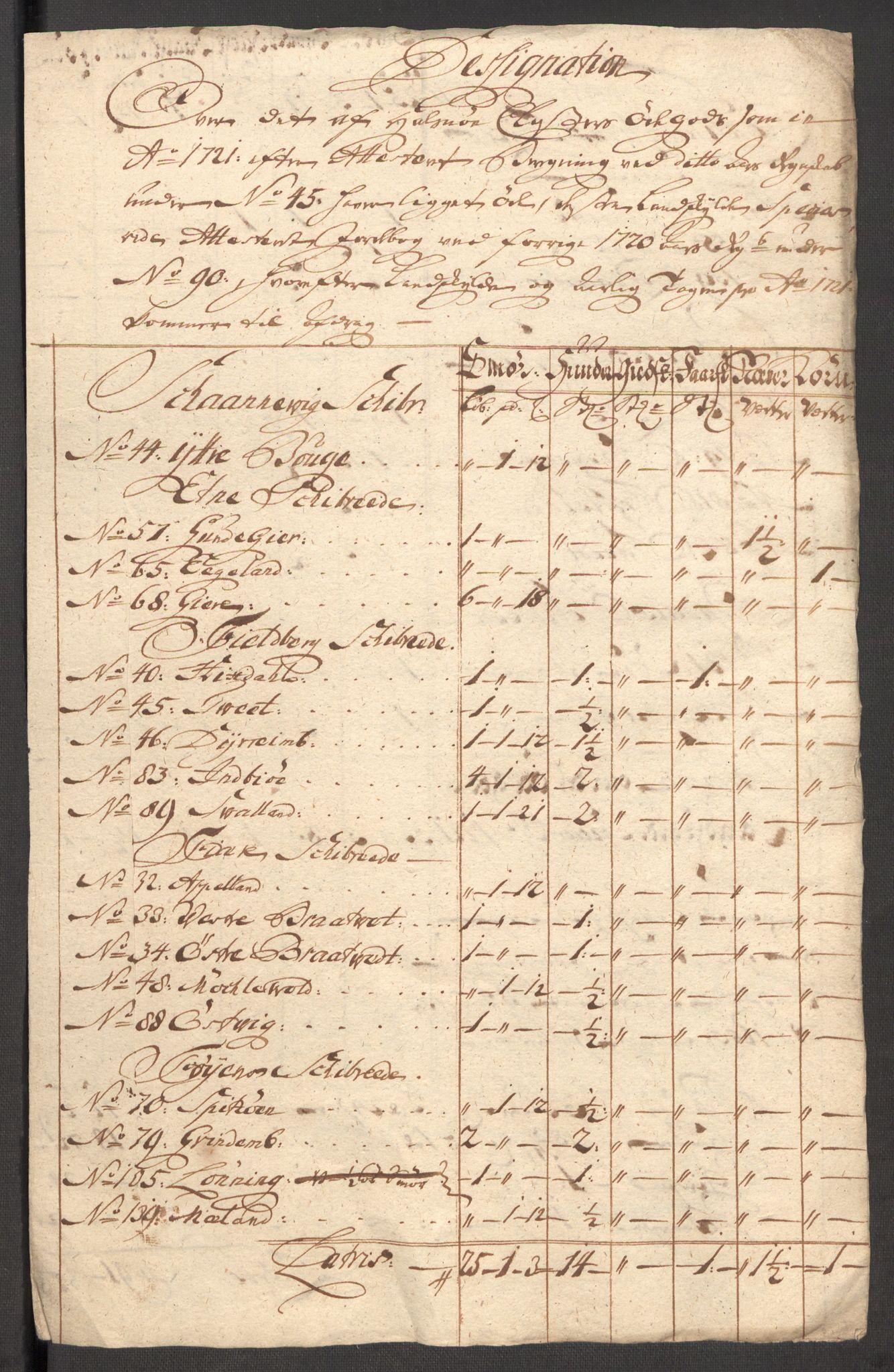 RA, Rentekammeret inntil 1814, Reviderte regnskaper, Fogderegnskap, R48/L3000: Fogderegnskap Sunnhordland og Hardanger, 1721, s. 409