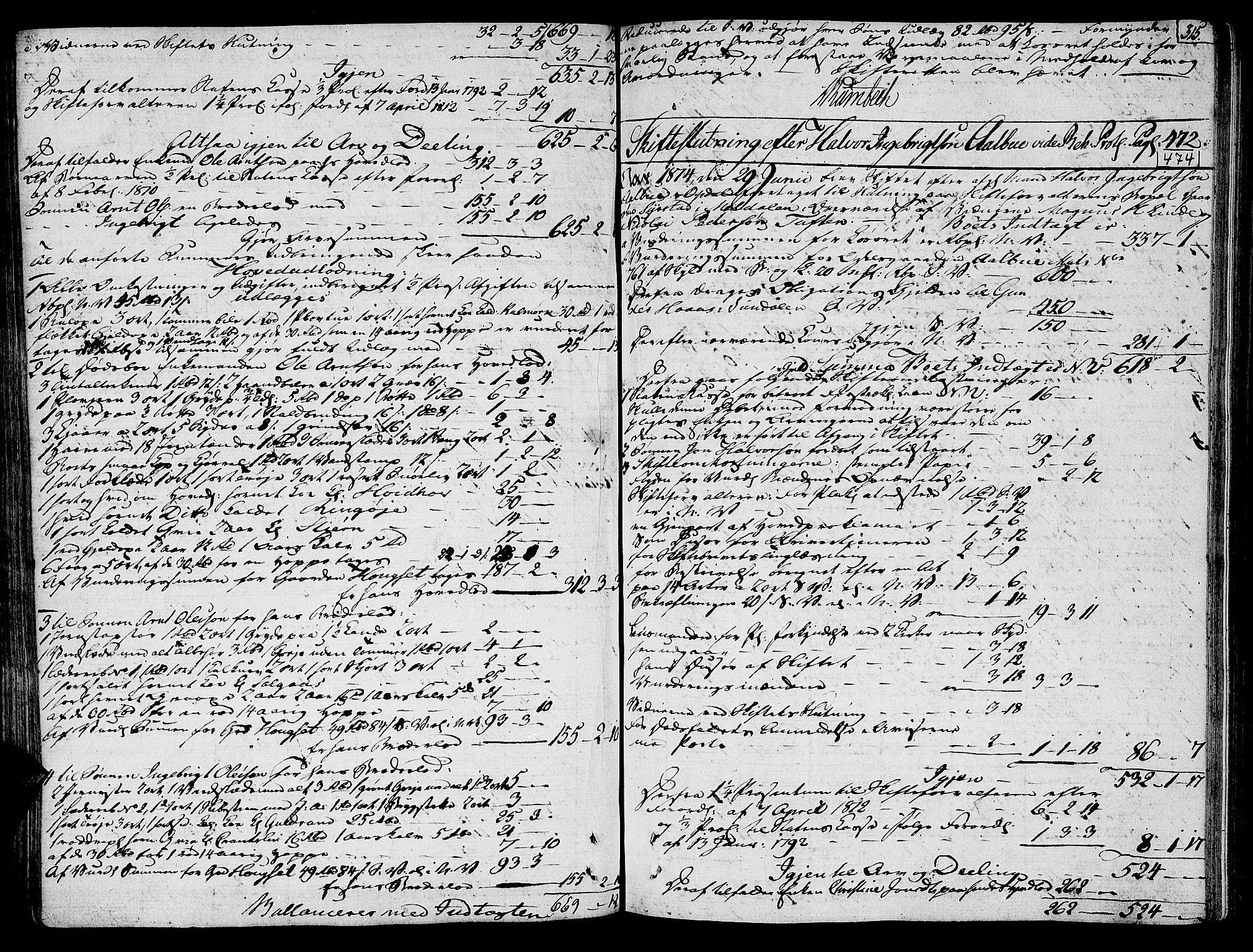 SAT, Orkdal sorenskriveri, 3/3Aa/L0010: Skifteprotokoller, 1805-1826, s. 315