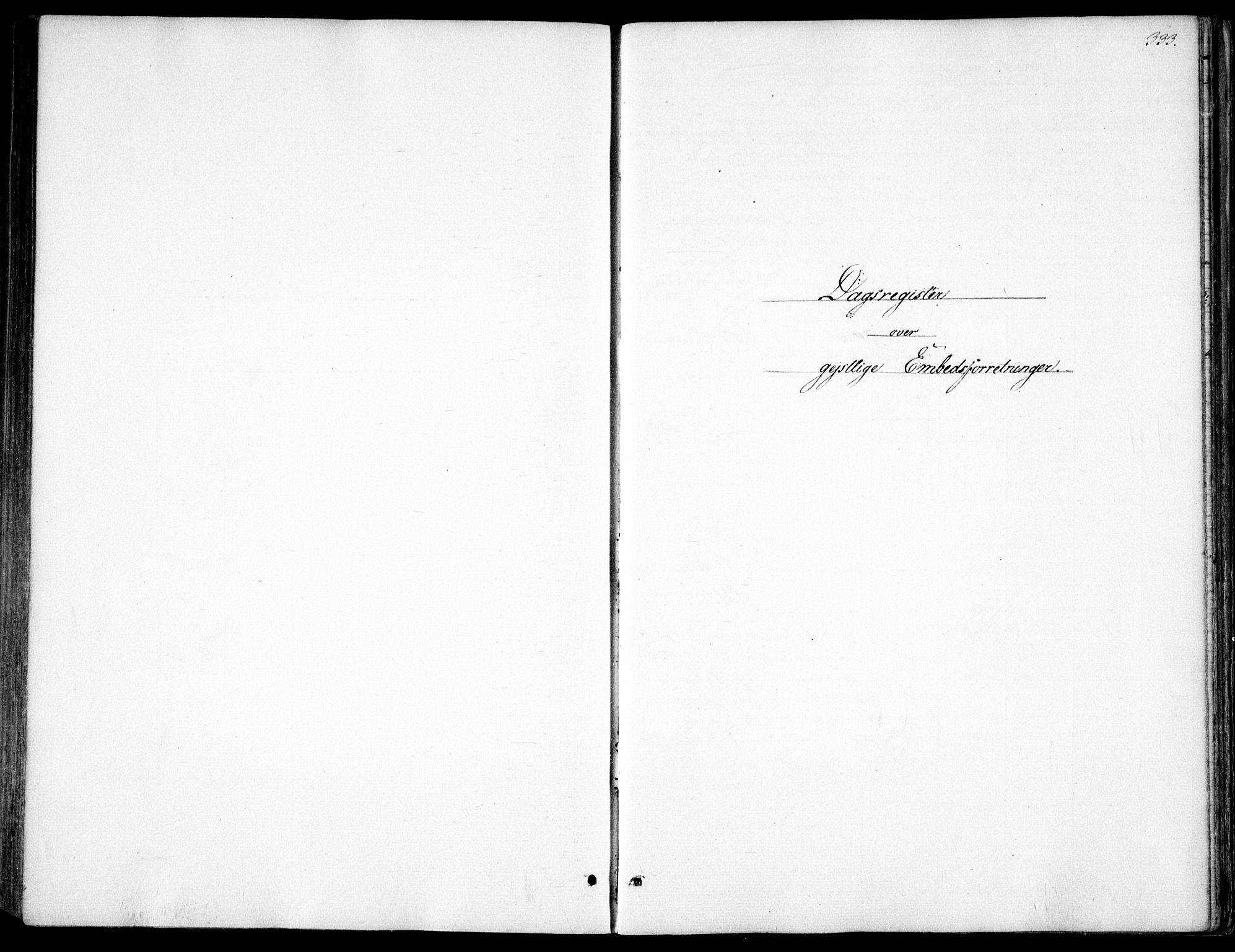 SAO, Garnisonsmenigheten Kirkebøker, F/Fa/L0009: Ministerialbok nr. 9, 1842-1859, s. 333