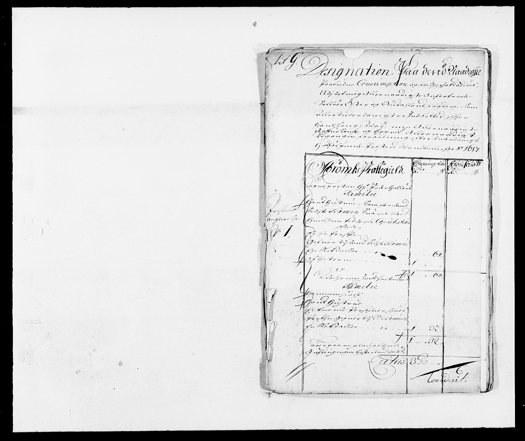 RA, Rentekammeret inntil 1814, Reviderte regnskaper, Fogderegnskap, R13/L0824: Fogderegnskap Solør, Odal og Østerdal, 1687, s. 229