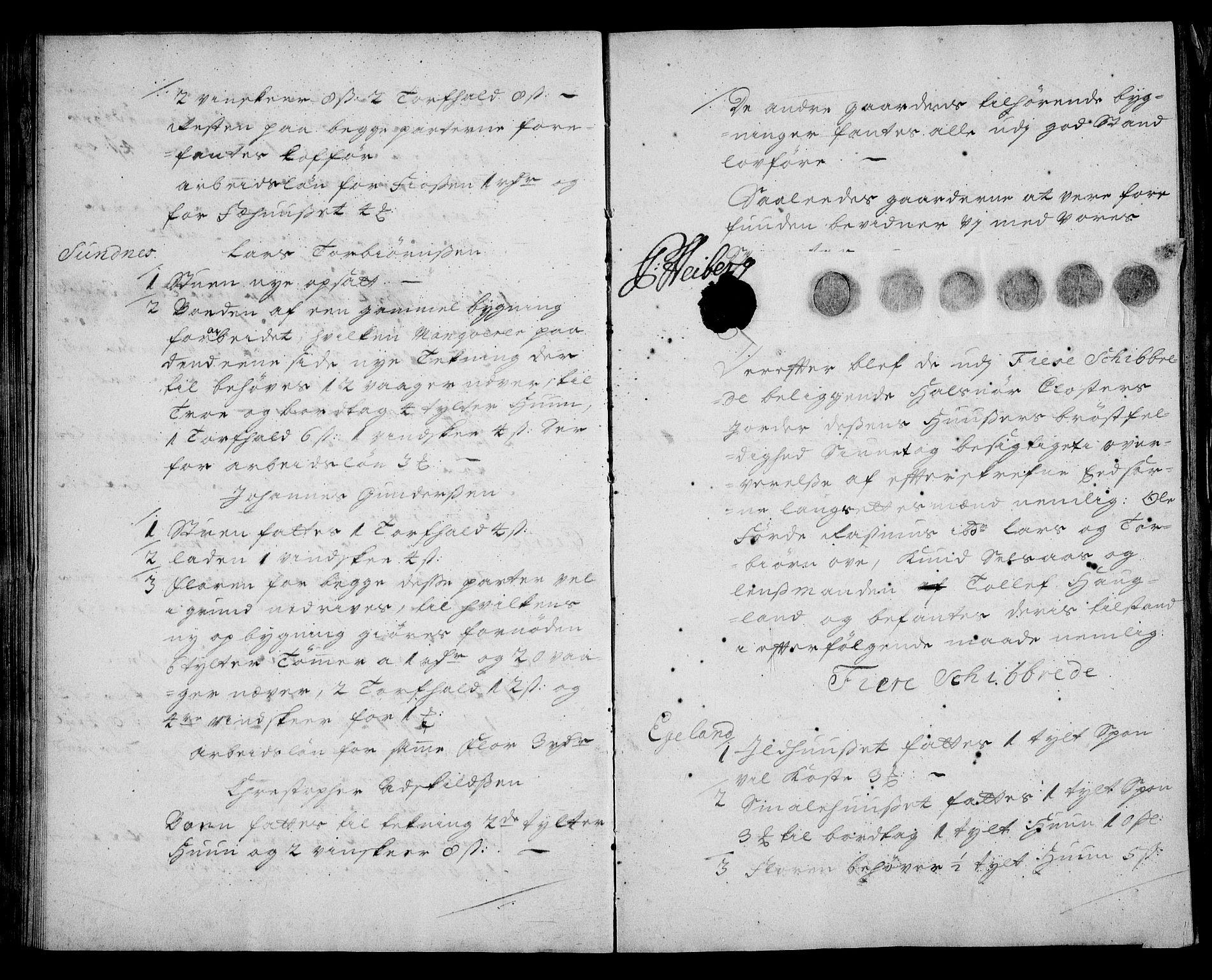 RA, Rentekammeret inntil 1814, Realistisk ordnet avdeling, On/L0003: [Jj 4]: Kommisjonsforretning over Vilhelm Hanssøns forpaktning av Halsnøy klosters gods, 1721-1729, s. 34