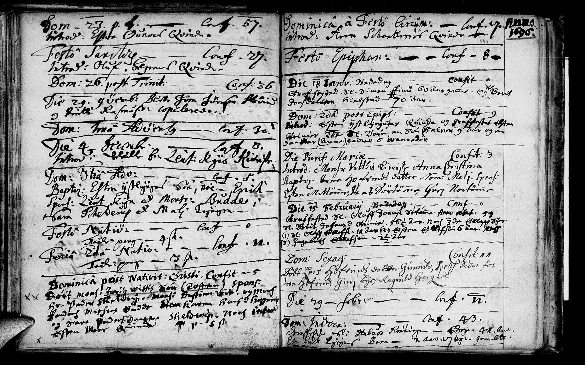 SAT, Ministerialprotokoller, klokkerbøker og fødselsregistre - Sør-Trøndelag, 692/L1101: Ministerialbok nr. 692A01, 1690-1746, s. 20