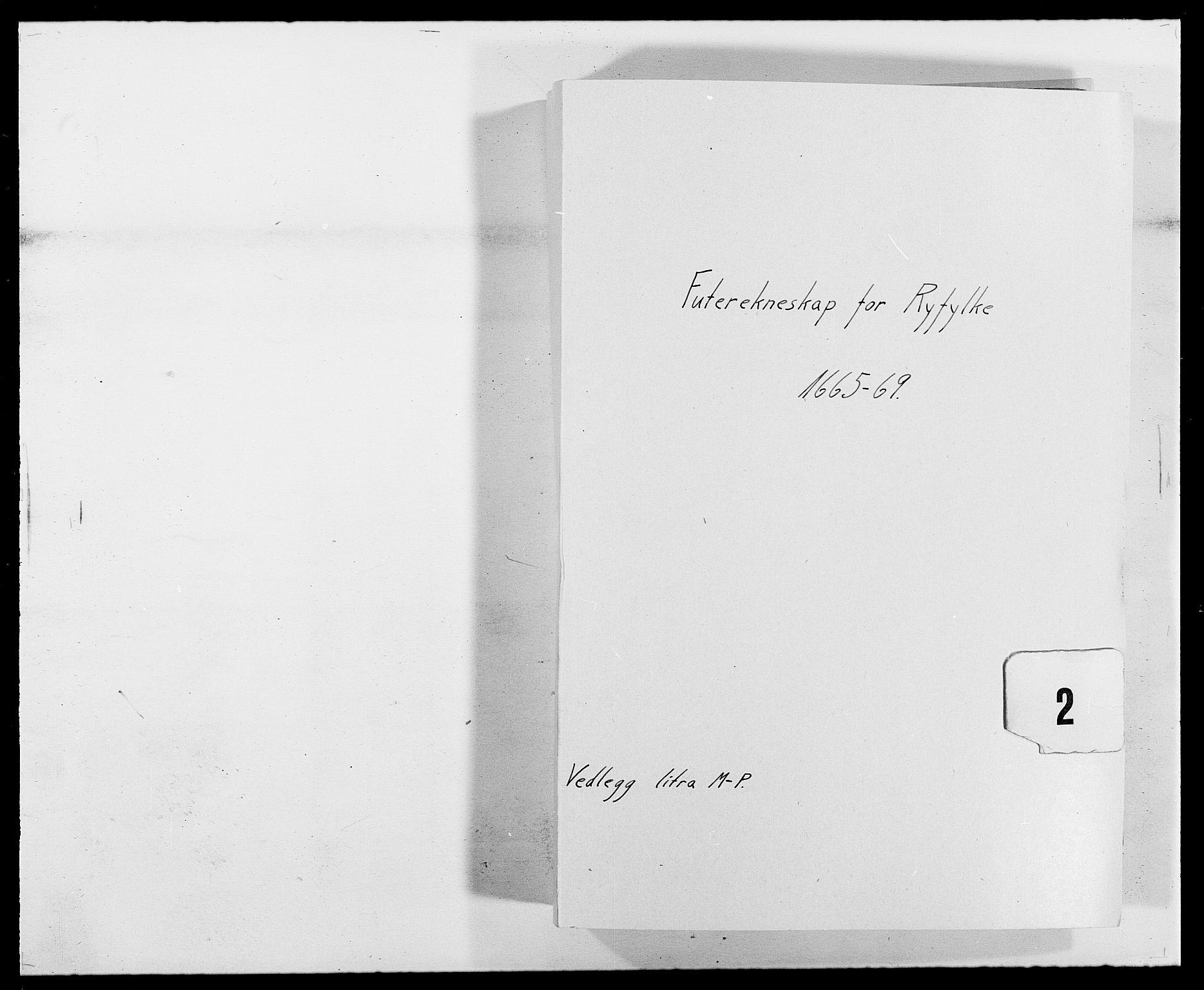 RA, Rentekammeret inntil 1814, Reviderte regnskaper, Fogderegnskap, R47/L2841: Fogderegnskap Ryfylke, 1665-1669, s. 1