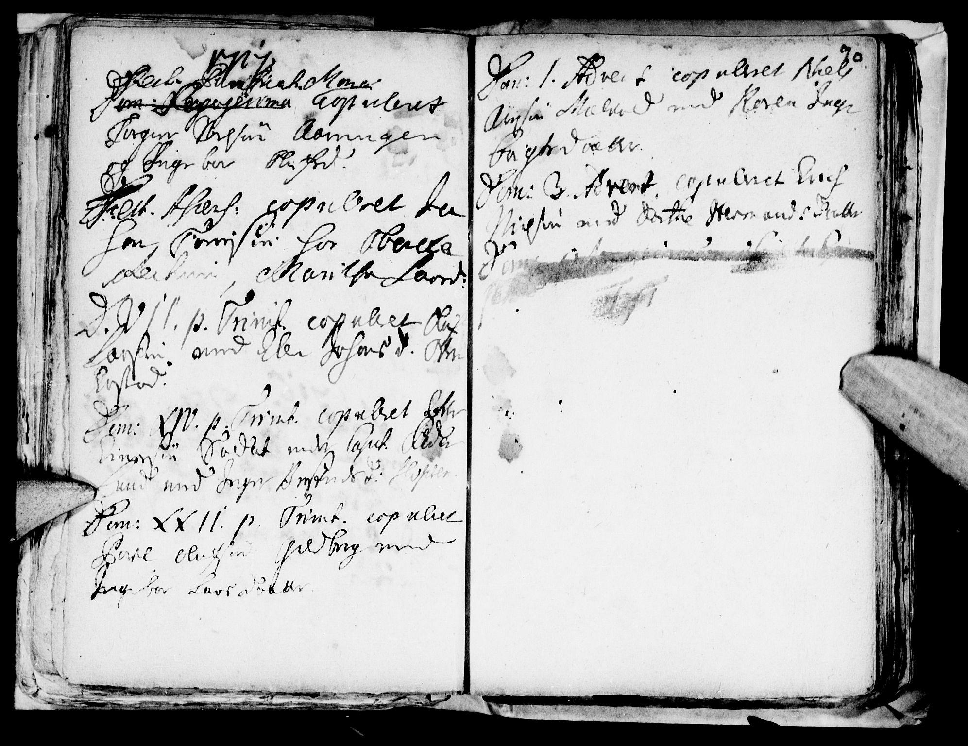SAT, Ministerialprotokoller, klokkerbøker og fødselsregistre - Nord-Trøndelag, 722/L0214: Ministerialbok nr. 722A01, 1692-1718, s. 90