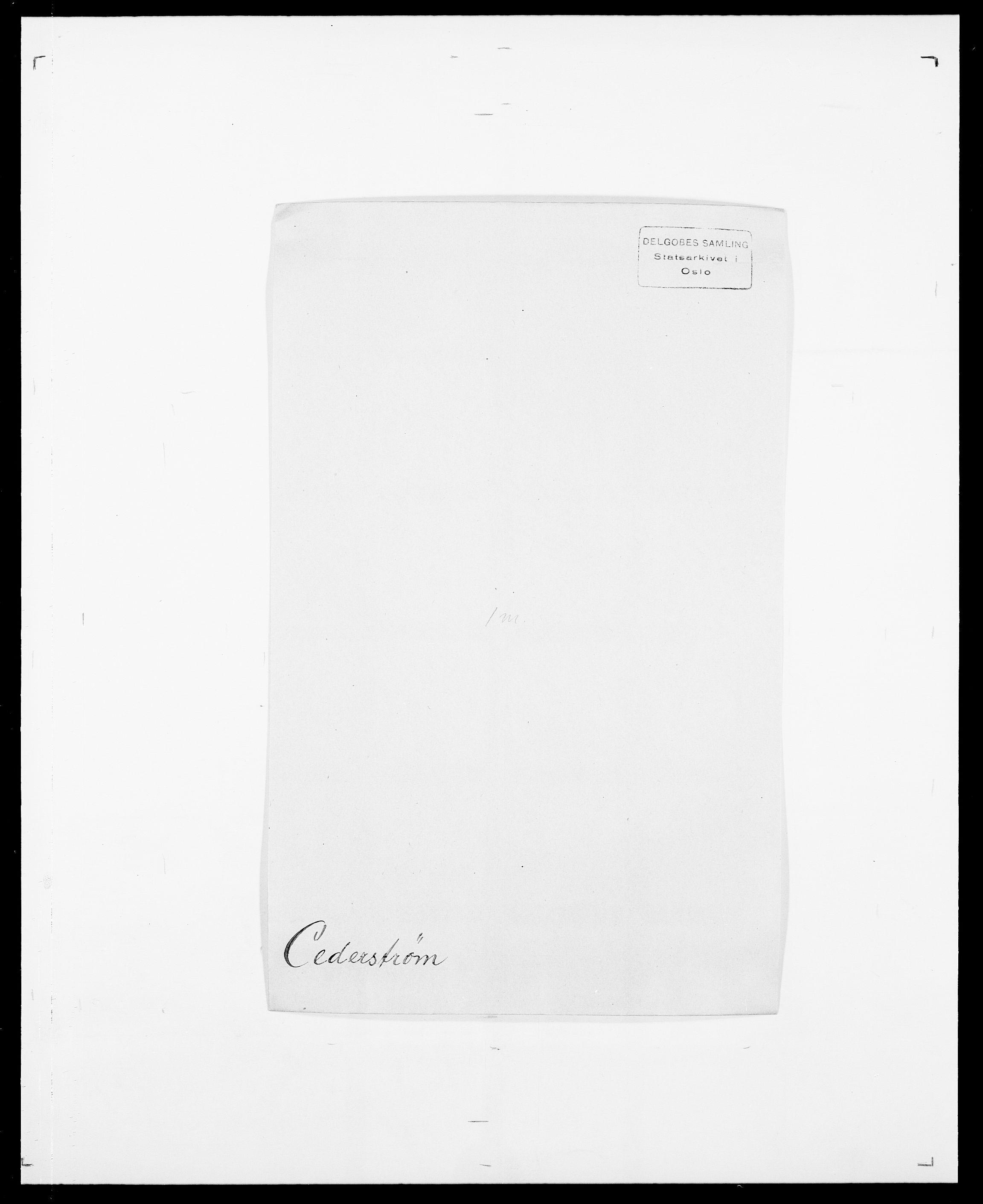 SAO, Delgobe, Charles Antoine - samling, D/Da/L0008: Capjon - Dagenbolt, s. 160
