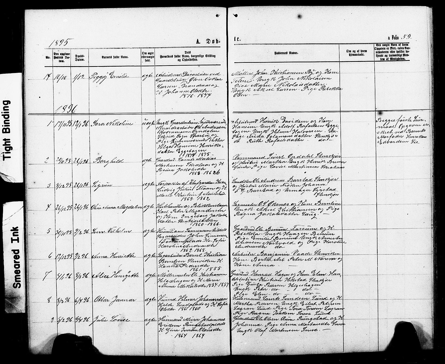SAT, Ministerialprotokoller, klokkerbøker og fødselsregistre - Nord-Trøndelag, 740/L0380: Klokkerbok nr. 740C01, 1868-1902, s. 59