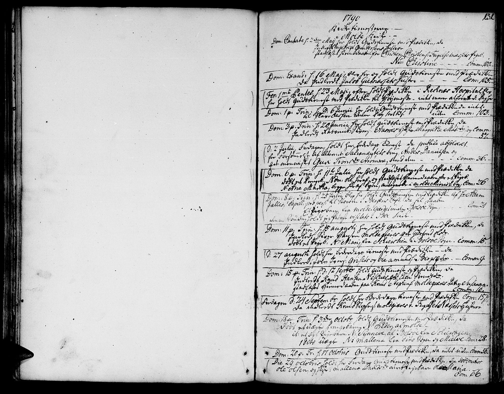 SAT, Ministerialprotokoller, klokkerbøker og fødselsregistre - Møre og Romsdal, 555/L0648: Ministerialbok nr. 555A01, 1759-1793, s. 131
