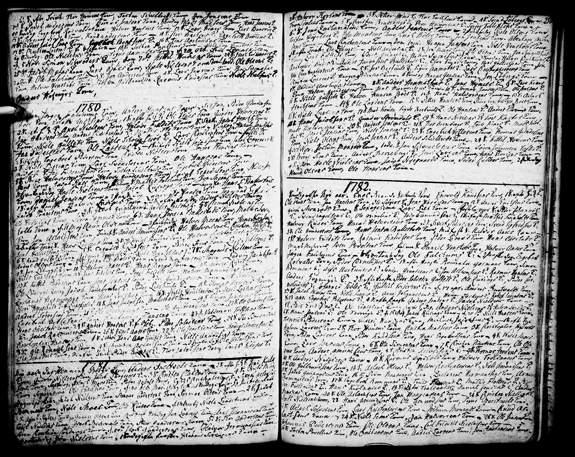 SAKO, Gjerpen kirkebøker, F/Fa/L0002: Ministerialbok nr. 2, 1747-1795, s. 258