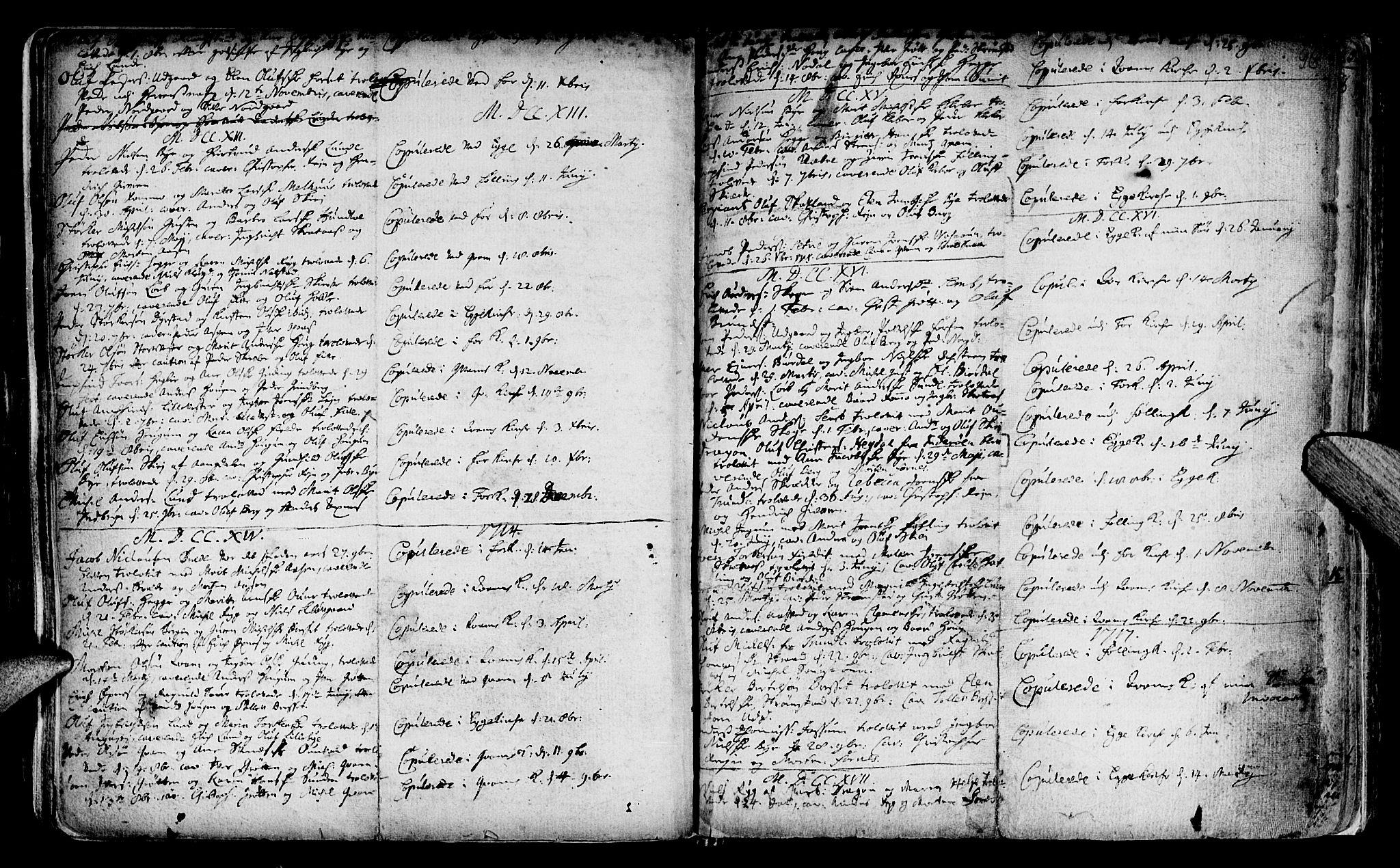 SAT, Ministerialprotokoller, klokkerbøker og fødselsregistre - Nord-Trøndelag, 746/L0439: Ministerialbok nr. 746A01, 1688-1759, s. 96