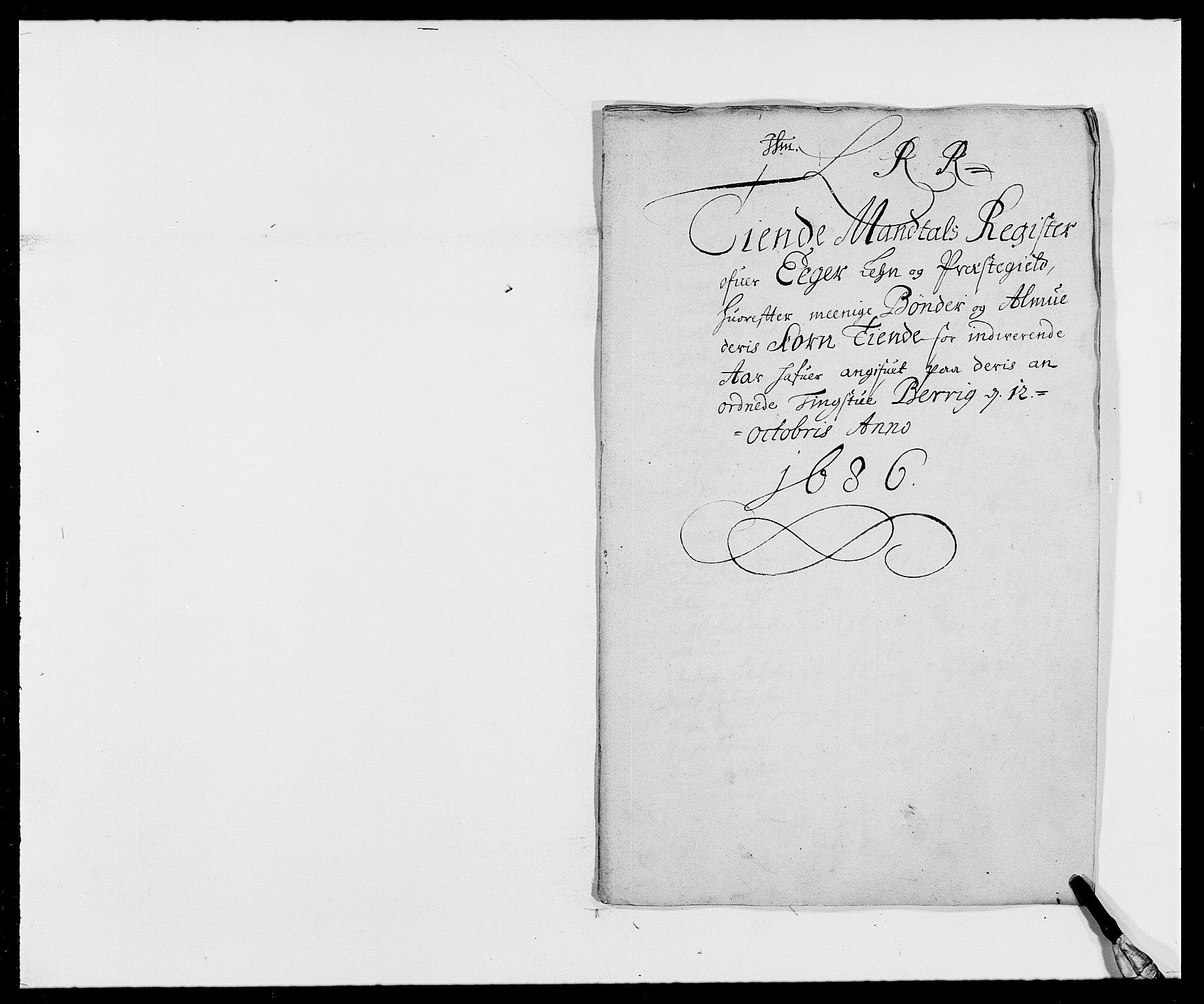 RA, Rentekammeret inntil 1814, Reviderte regnskaper, Fogderegnskap, R26/L1685: Fogderegnskap Eiker, 1679-1686, s. 153