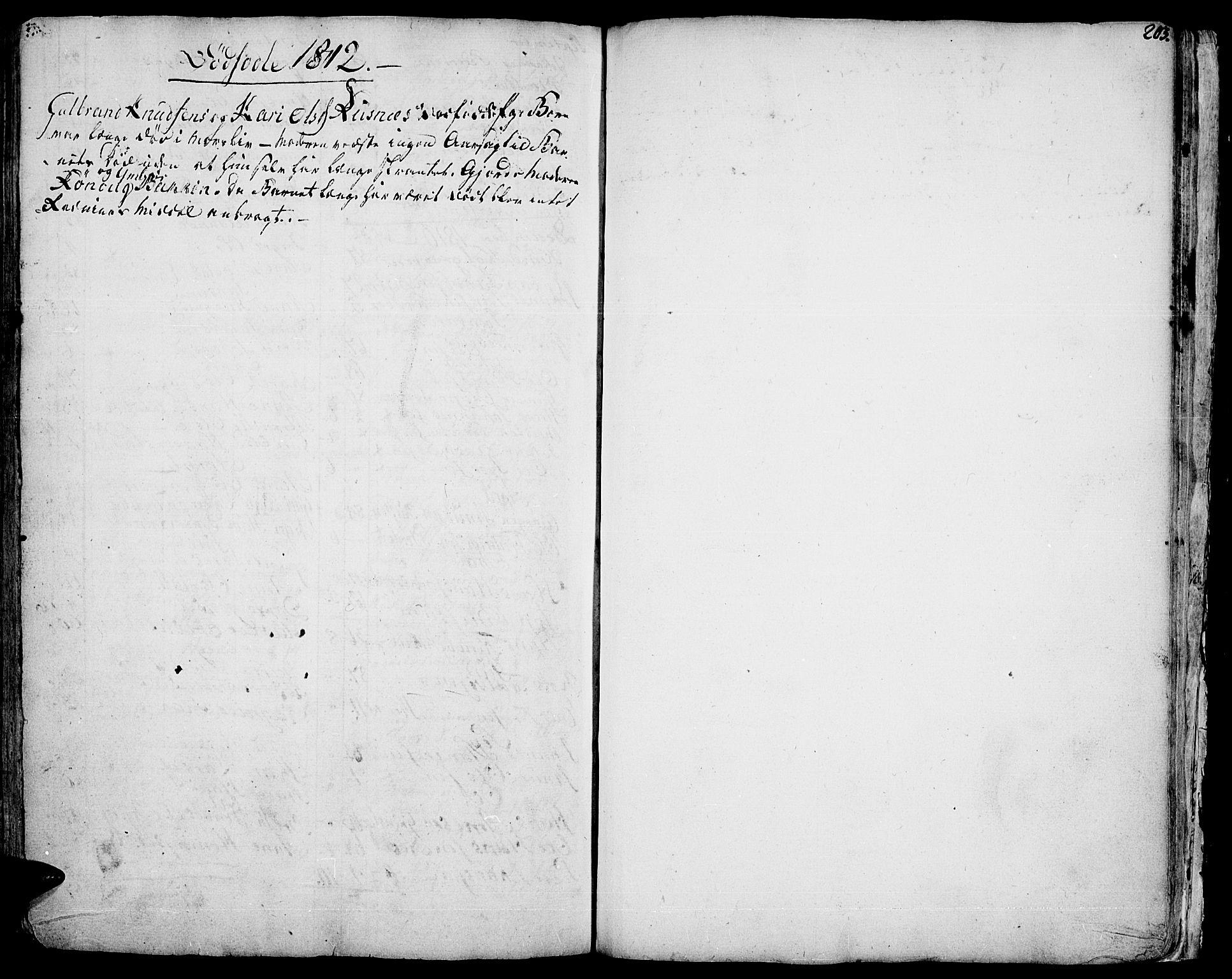 SAH, Vågå prestekontor, Ministerialbok nr. 1, 1739-1810, s. 203