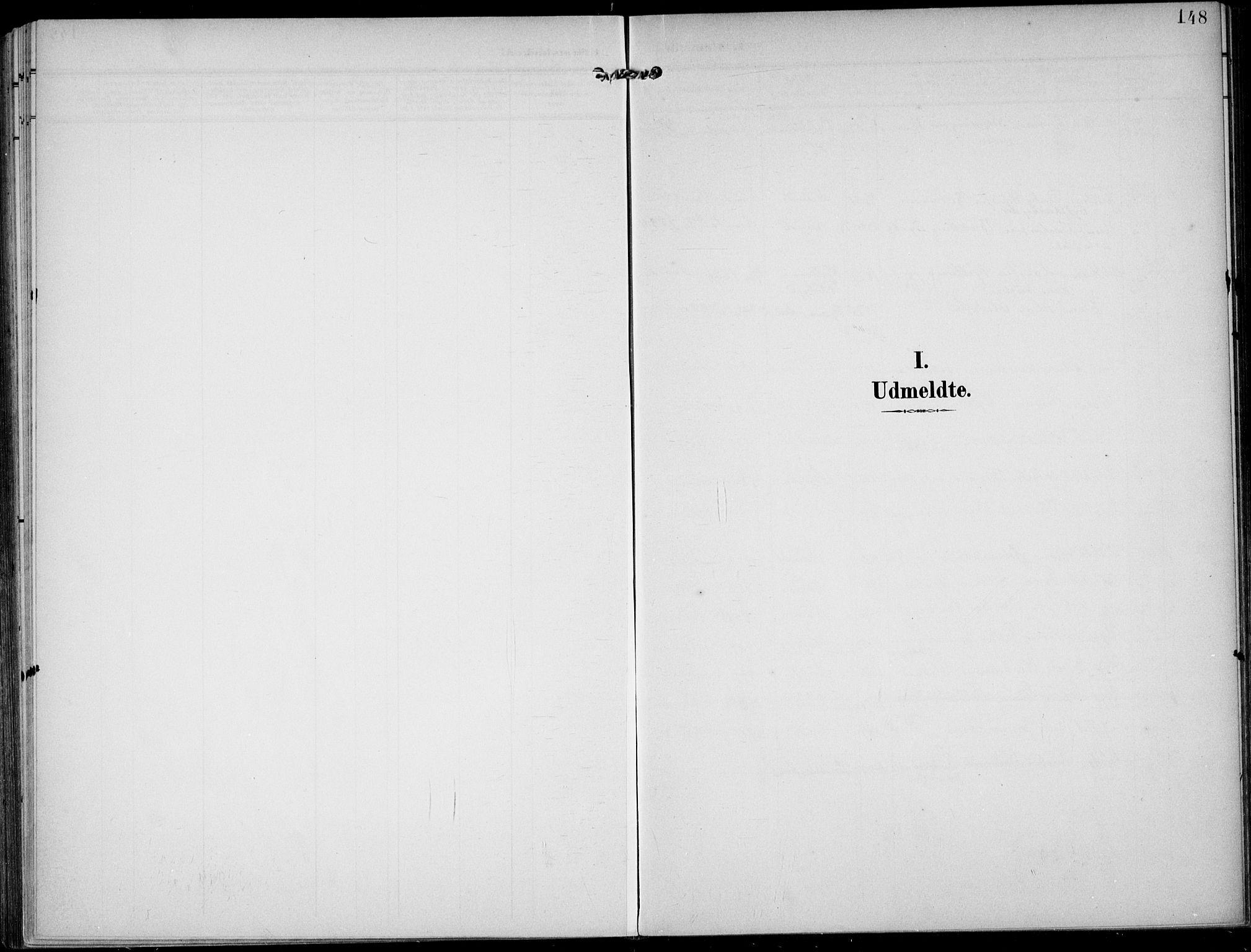 SAKO, Lunde kirkebøker, F/Fa/L0004: Ministerialbok nr. I 4, 1902-1913, s. 148