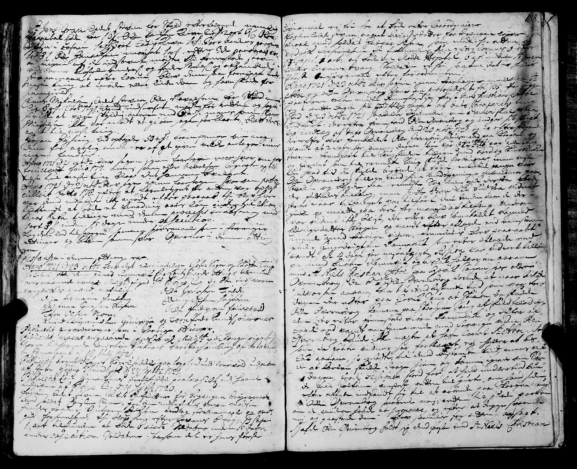SAT, Romsdal sorenskriveri, 1/1A/L0008: Tingbok, 1714-1721, s. 187b-188a