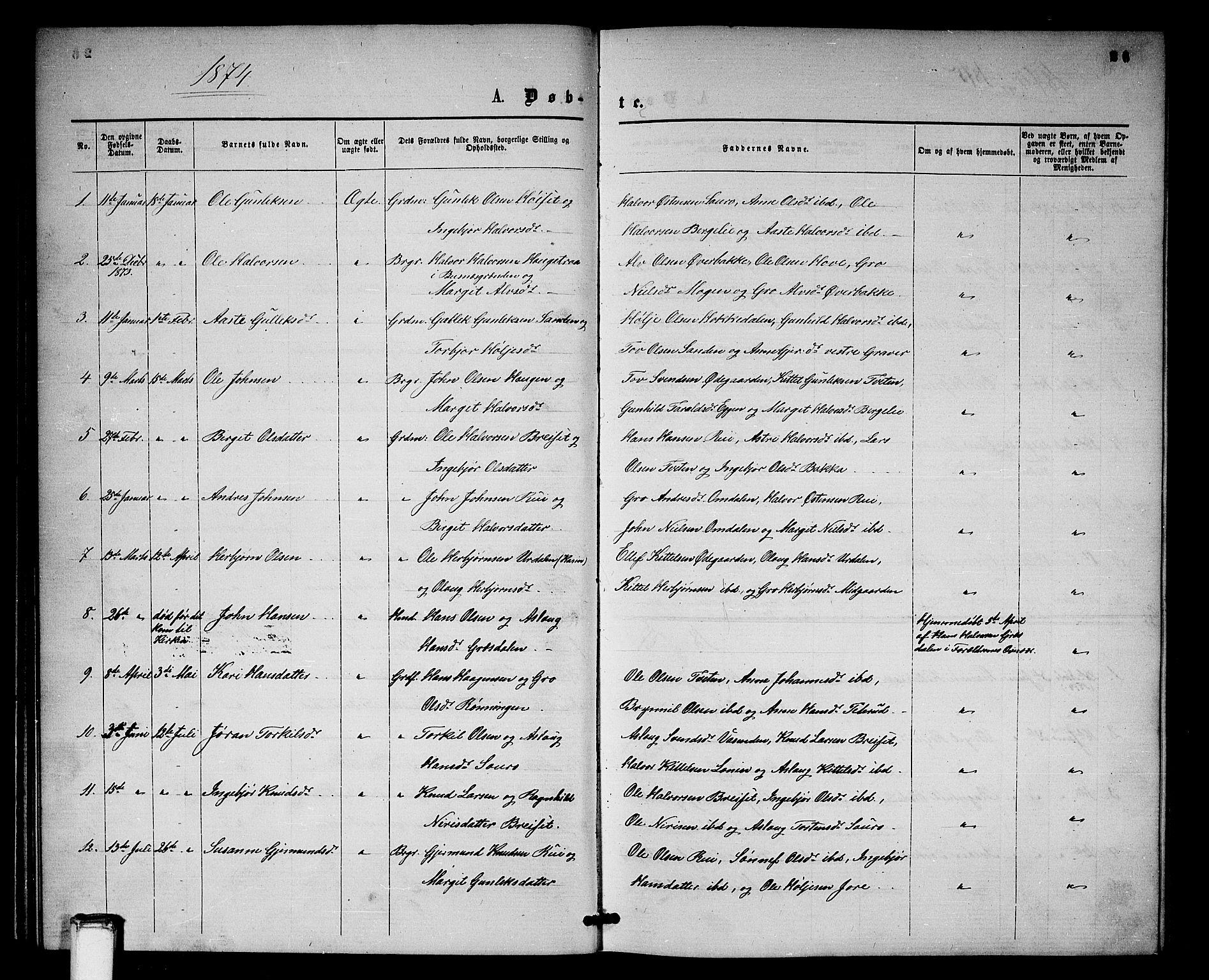 SAKO, Gransherad kirkebøker, G/Gb/L0002: Klokkerbok nr. II 2, 1860-1886, s. 26
