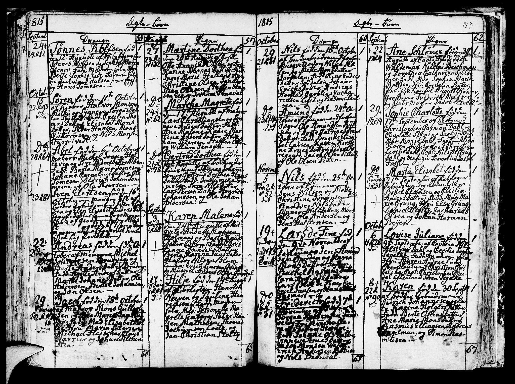 SAB, Korskirken Sokneprestembete, H/Haa/L0006: Ministerialbok nr. A 6, 1790-1820, s. 183