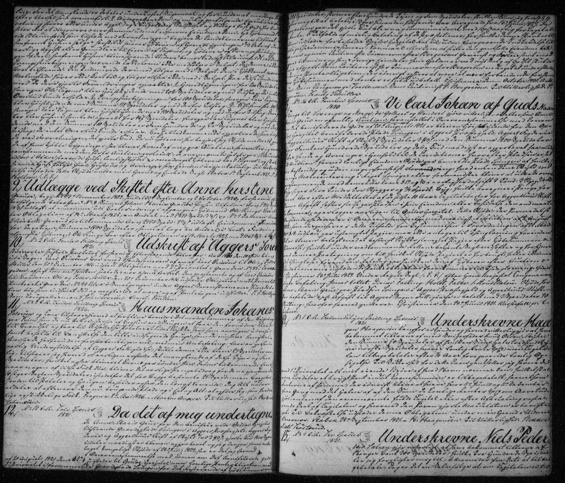 SAO, Aker sorenskriveri, G/Gb/Gba/L0009: Pantebok nr. I 9, 1824-1833, s. 484