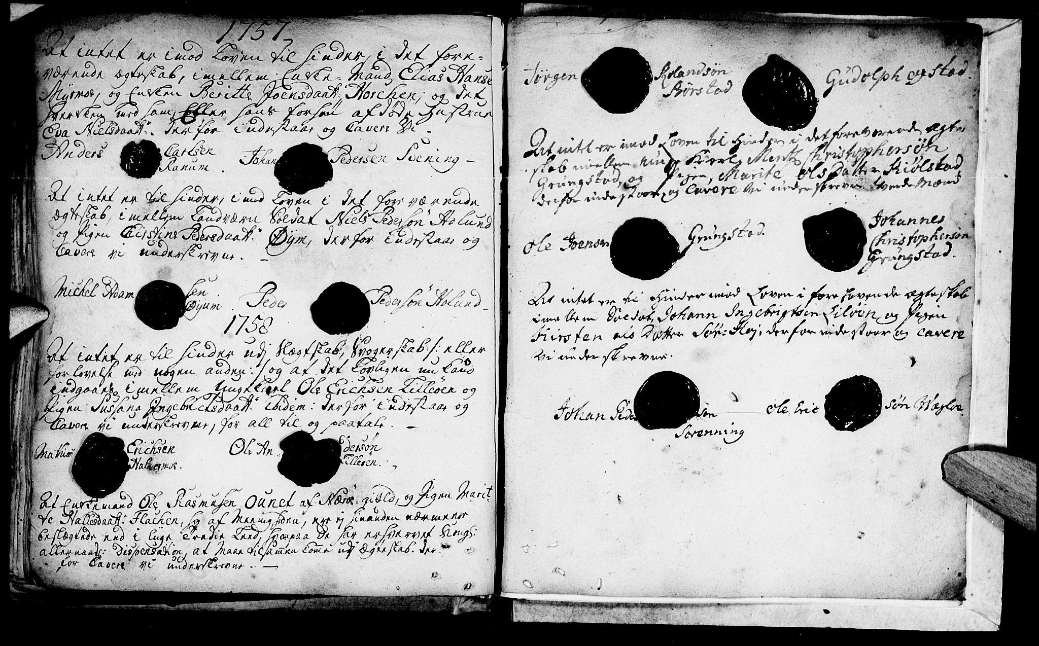 SAT, Ministerialprotokoller, klokkerbøker og fødselsregistre - Nord-Trøndelag, 764/L0541: Ministerialbok nr. 764A01, 1745-1758, s. 46