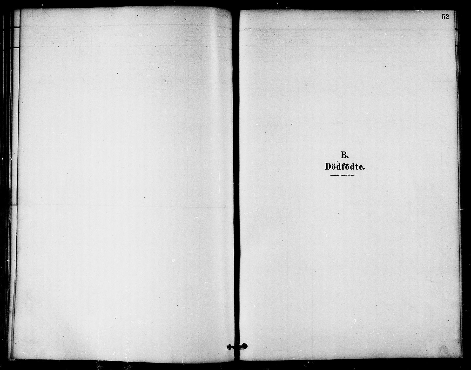 SAT, Ministerialprotokoller, klokkerbøker og fødselsregistre - Nord-Trøndelag, 764/L0555: Ministerialbok nr. 764A10, 1881-1896, s. 52