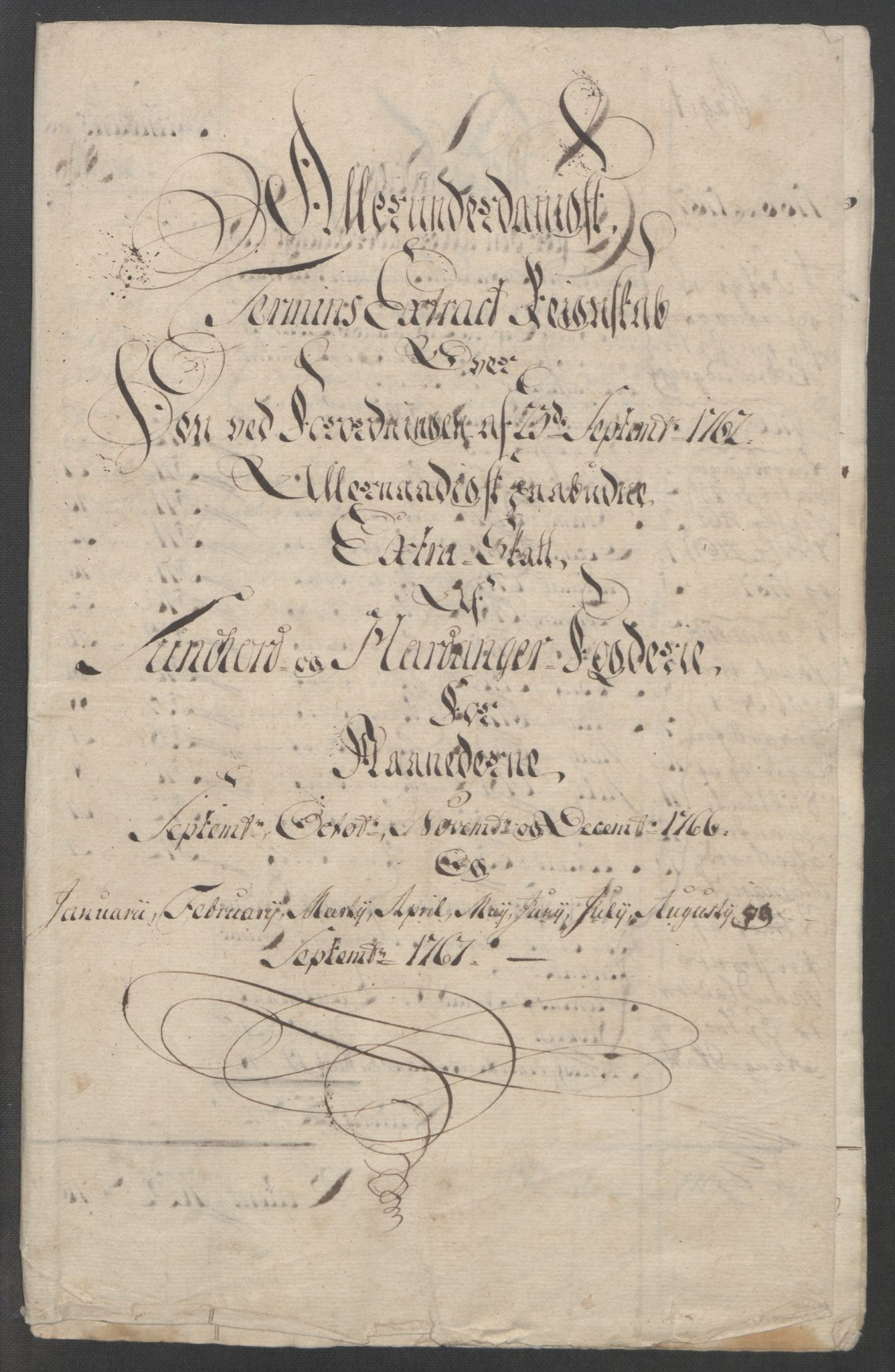 RA, Rentekammeret inntil 1814, Reviderte regnskaper, Fogderegnskap, R48/L3136: Ekstraskatten Sunnhordland og Hardanger, 1762-1772, s. 140
