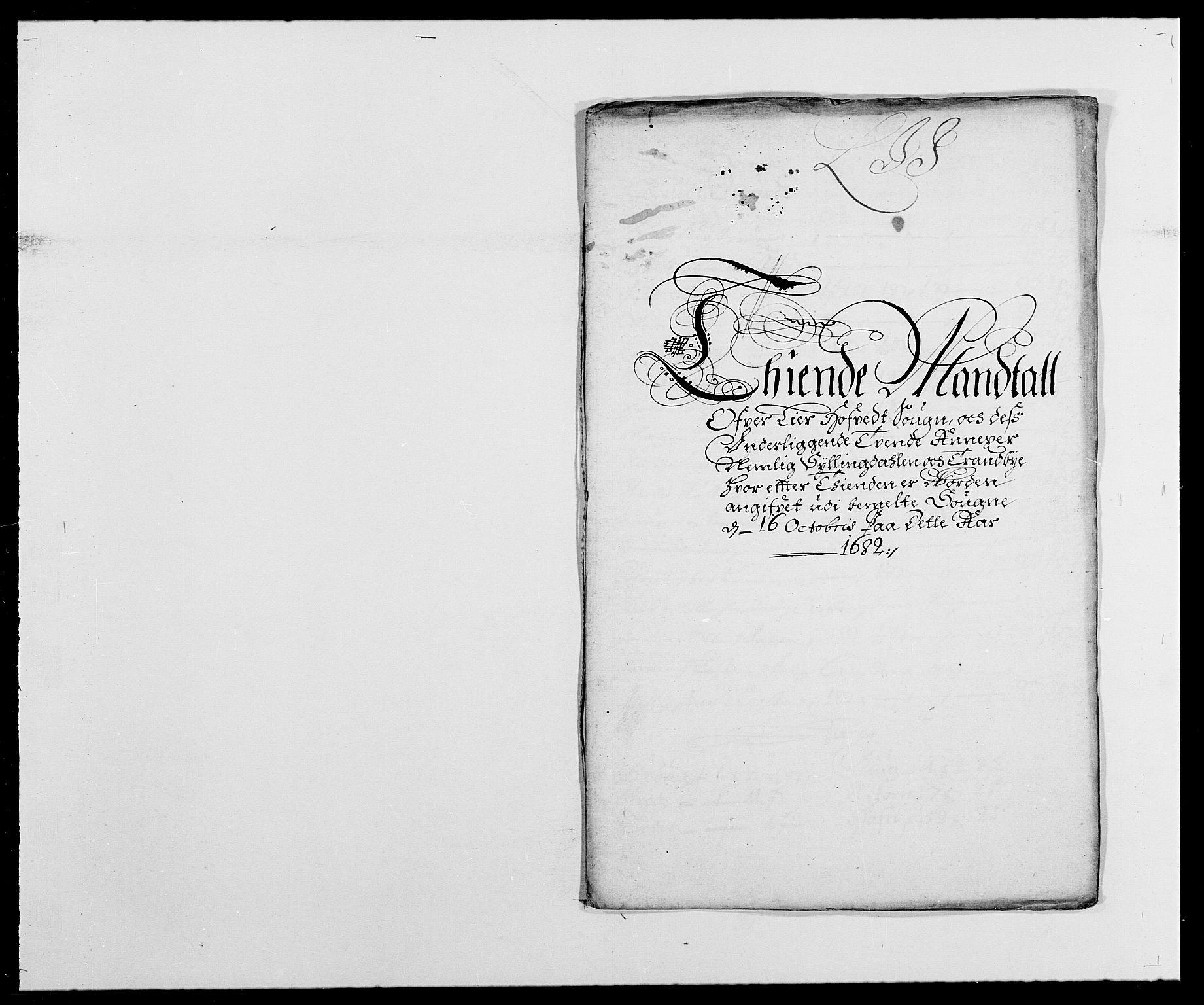 RA, Rentekammeret inntil 1814, Reviderte regnskaper, Fogderegnskap, R27/L1686: Fogderegnskap Lier, 1678-1686, s. 372