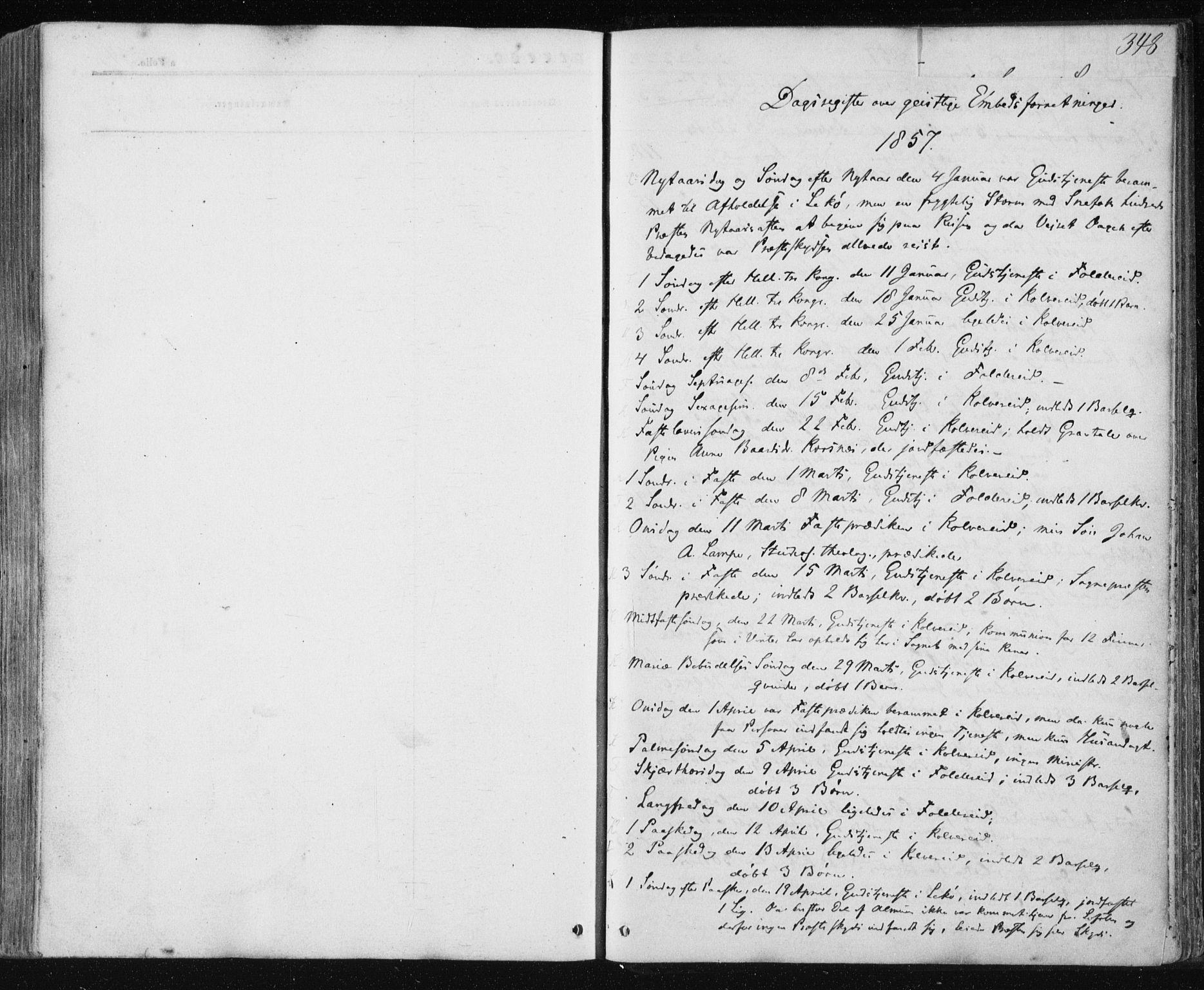 SAT, Ministerialprotokoller, klokkerbøker og fødselsregistre - Nord-Trøndelag, 780/L0641: Ministerialbok nr. 780A06, 1857-1874, s. 347