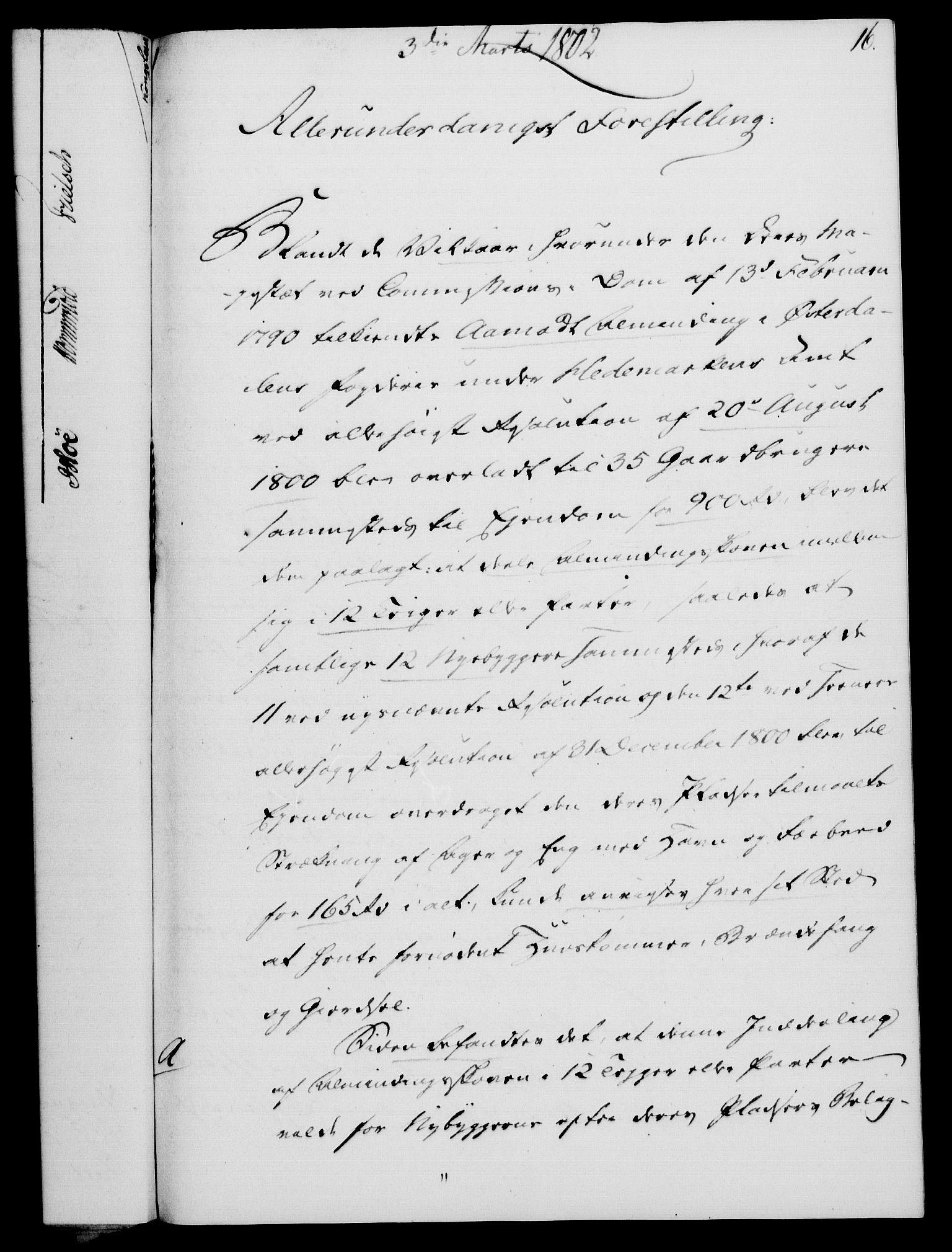 RA, Rentekammeret, Kammerkanselliet, G/Gf/Gfa/L0084: Norsk relasjons- og resolusjonsprotokoll (merket RK 52.84), 1802, s. 125