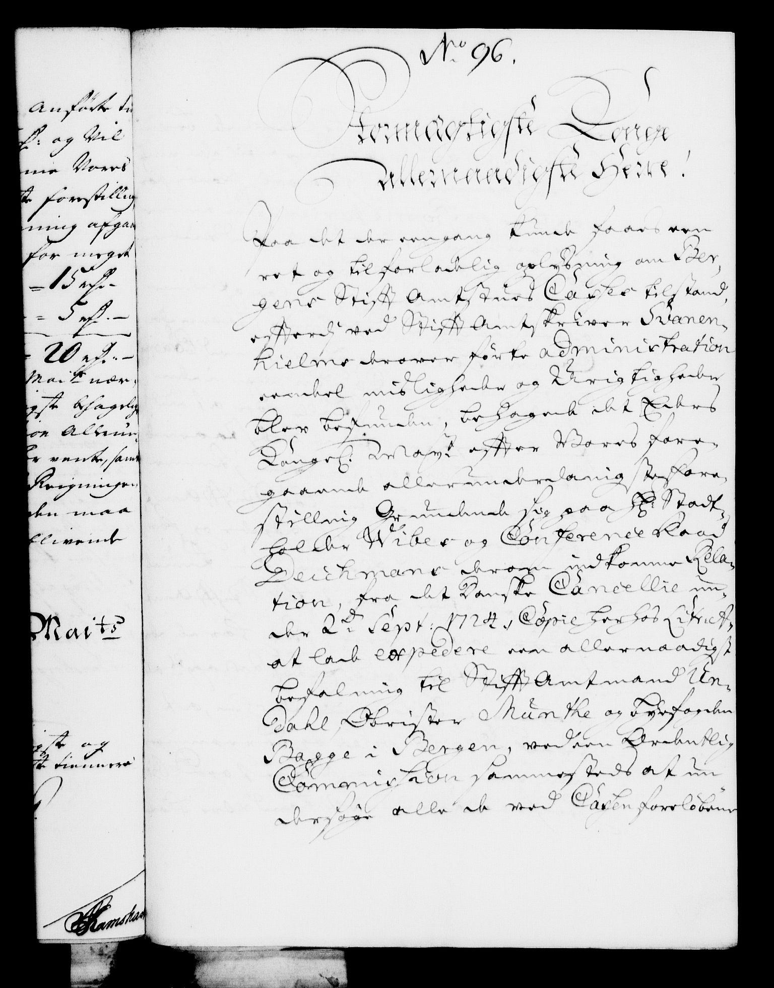 RA, Rentekammeret, Kammerkanselliet, G/Gf/Gfa/L0008: Norsk relasjons- og resolusjonsprotokoll (merket RK 52.8), 1725, s. 557
