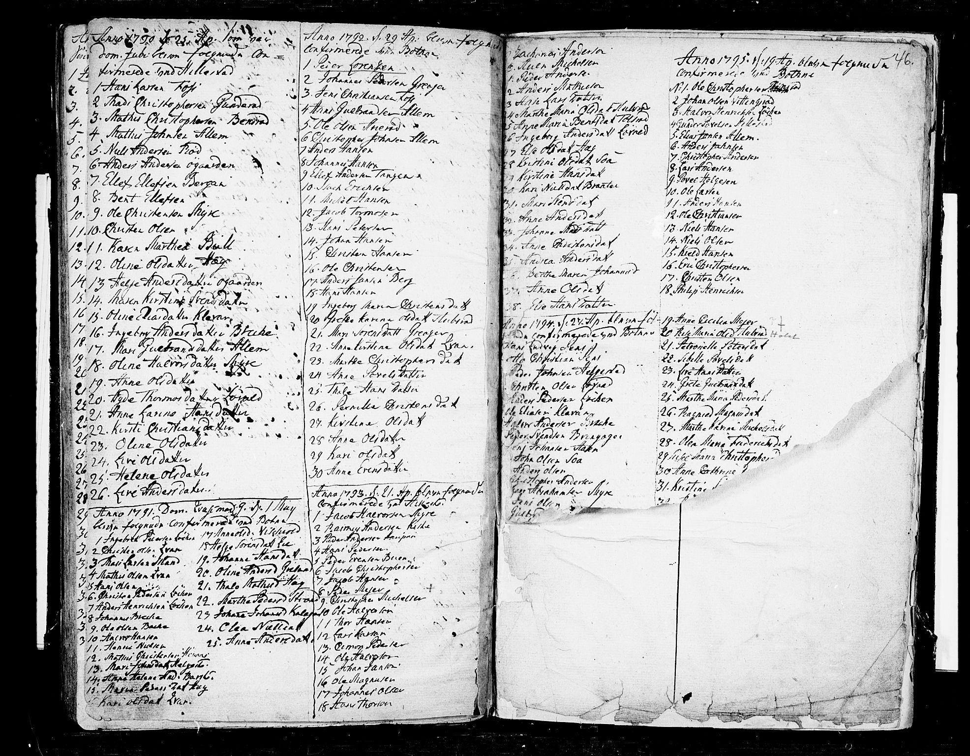 SAKO, Botne kirkebøker, F/Fa/L0002: Ministerialbok nr. I 2, 1779-1791, s. 46