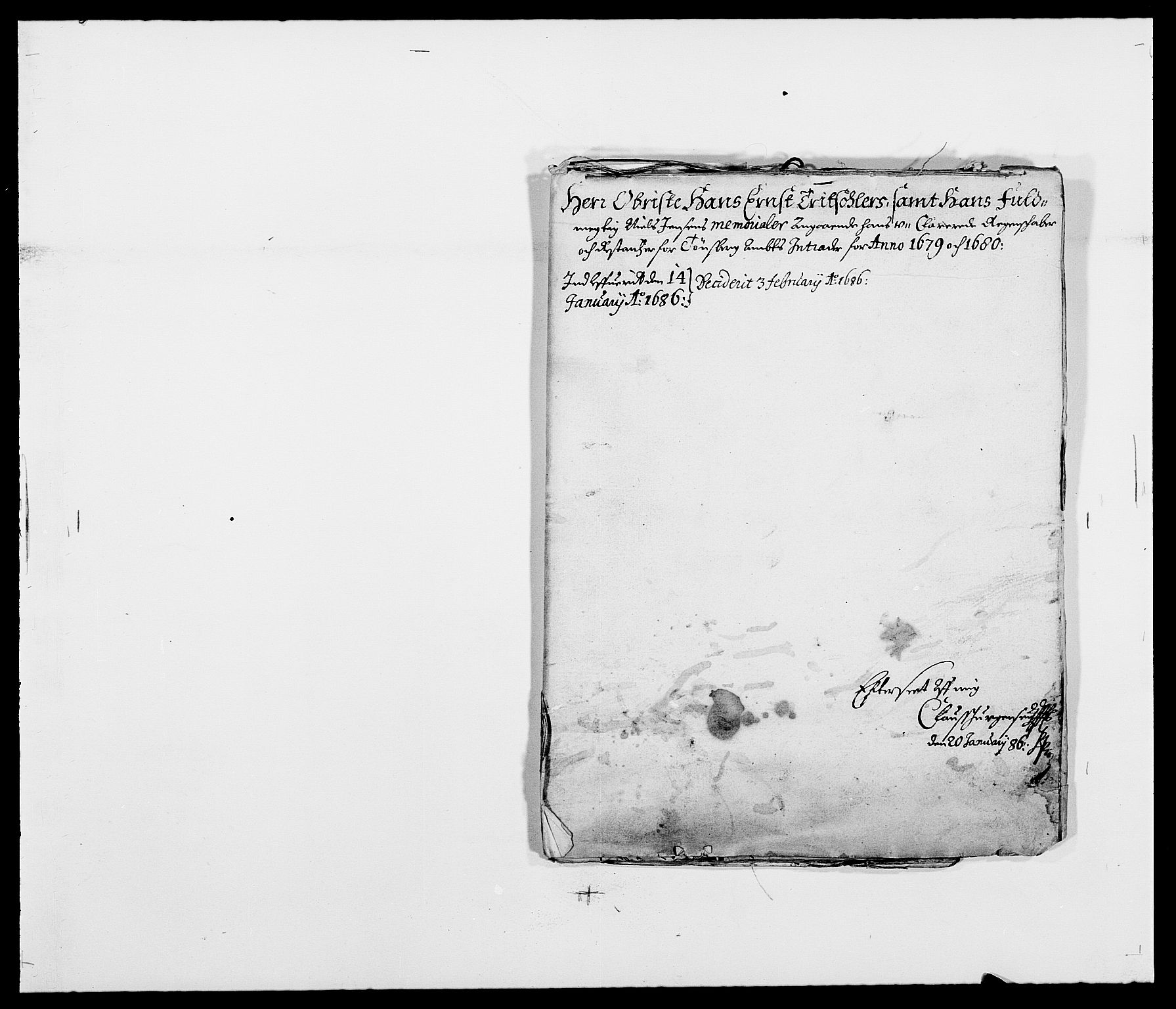 RA, Rentekammeret inntil 1814, Reviderte regnskaper, Fogderegnskap, R32/L1849: Fogderegnskap Jarlsberg grevskap, 1679-1680, s. 73