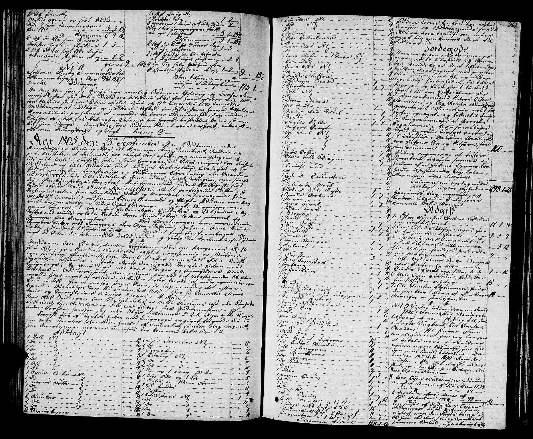 SAH, Østerdalen sorenskriveri, J/Ja/L0009: Skifteprotokoll, 1803-1806, s. 368b-369a
