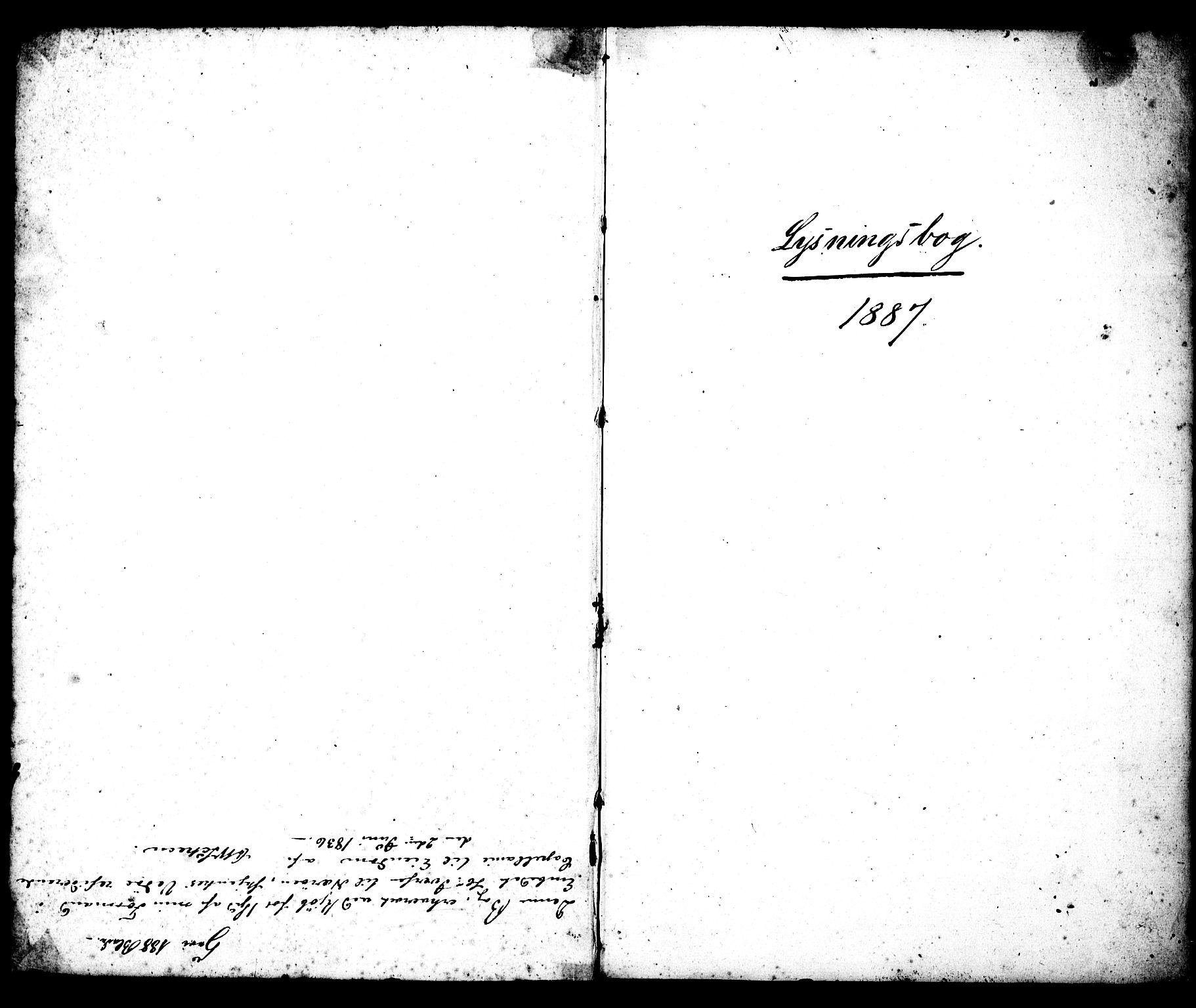 SAT, Ministerialprotokoller, klokkerbøker og fødselsregistre - Møre og Romsdal, 547/L0609: Residerende kapellans bok nr. 547B01, 1829-1898