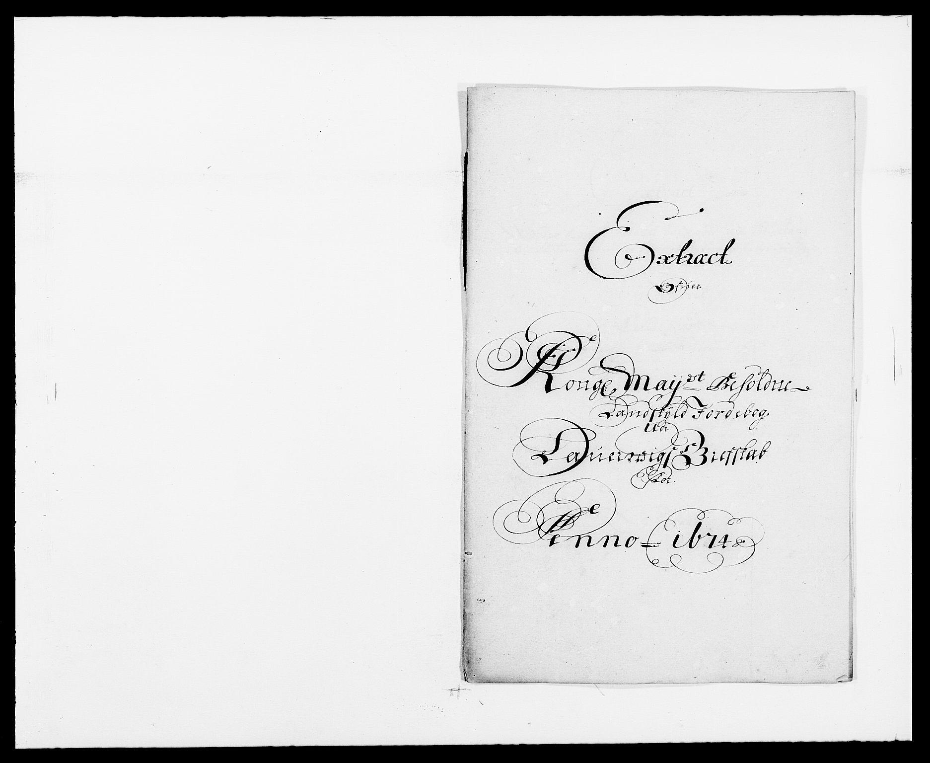 RA, Rentekammeret inntil 1814, Reviderte regnskaper, Fogderegnskap, R33/L1966: Fogderegnskap Larvik grevskap, 1672-1674, s. 242