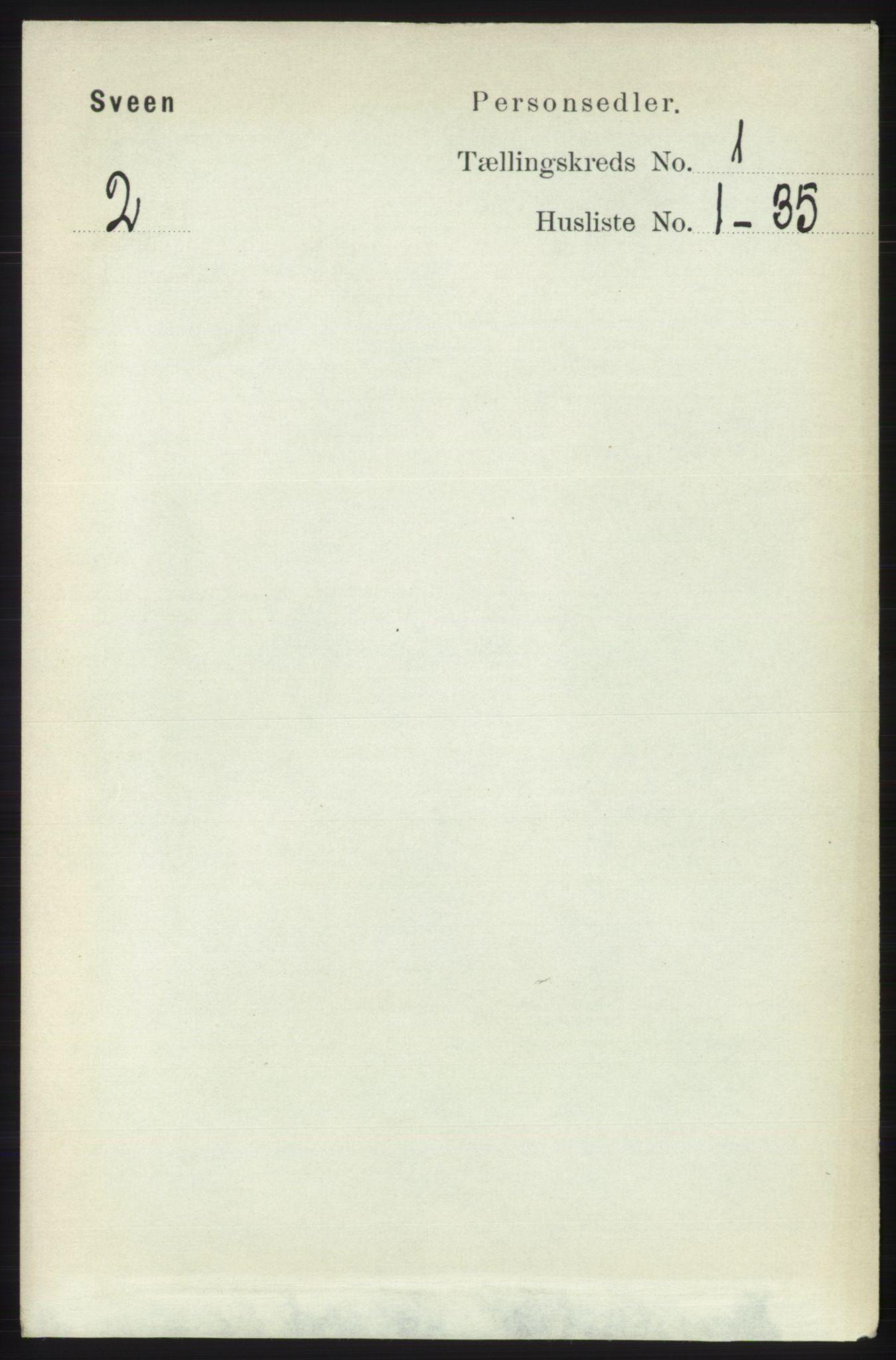 RA, Folketelling 1891 for 1216 Sveio herred, 1891, s. 105