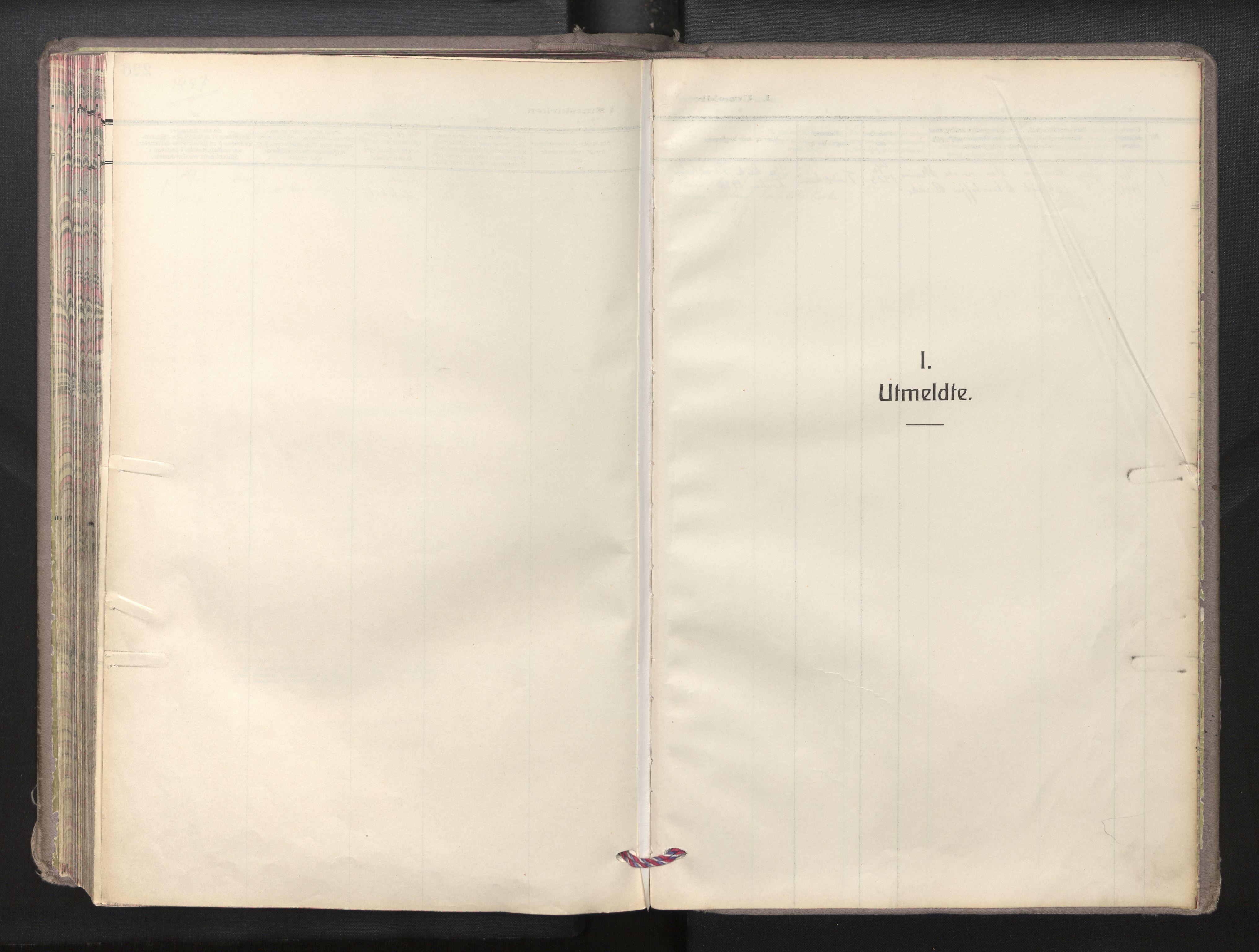 SAB, Den norske sjømannsmisjon i utlandet/New York, H/Ha/L0009: Ministerialbok nr. A 9, 1935-1945