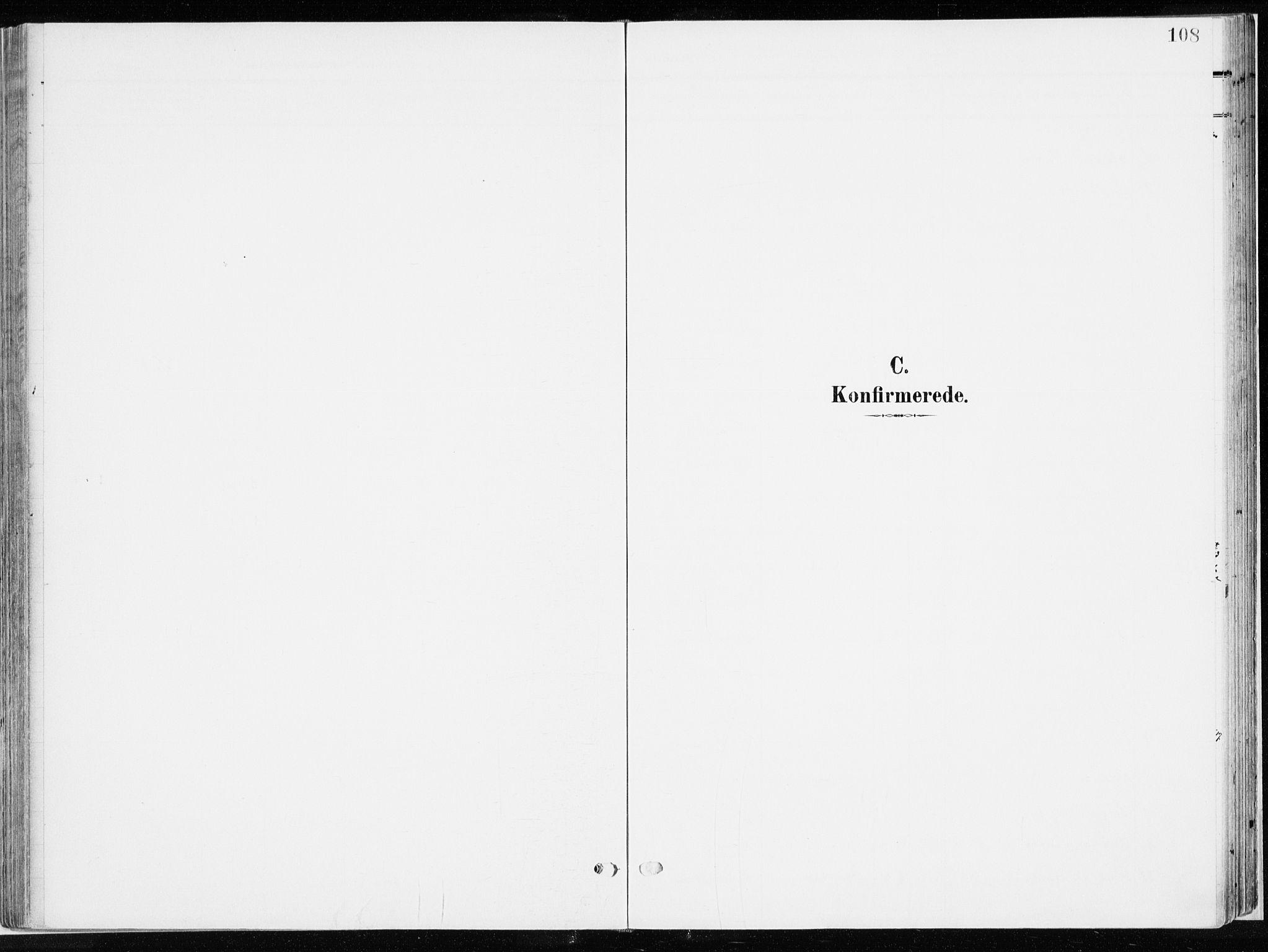 SAH, Ringsaker prestekontor, K/Ka/L0019: Ministerialbok nr. 19, 1905-1920, s. 108