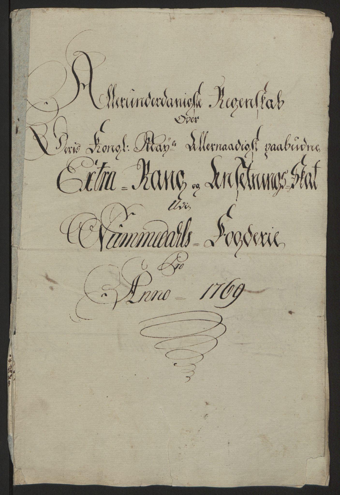 RA, Rentekammeret inntil 1814, Reviderte regnskaper, Fogderegnskap, R64/L4502: Ekstraskatten Namdal, 1762-1772, s. 303