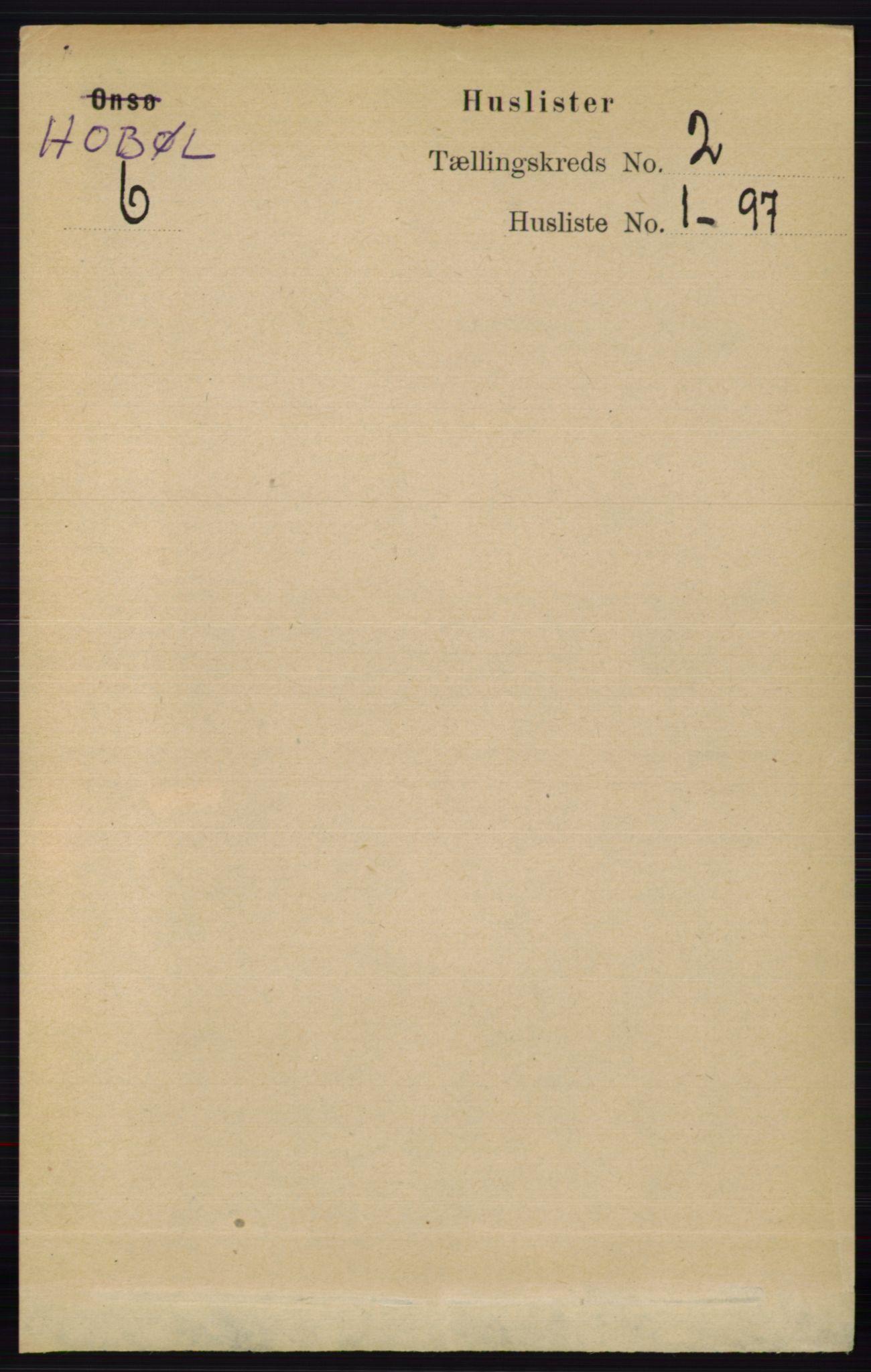 RA, Folketelling 1891 for 0138 Hobøl herred, 1891, s. 926