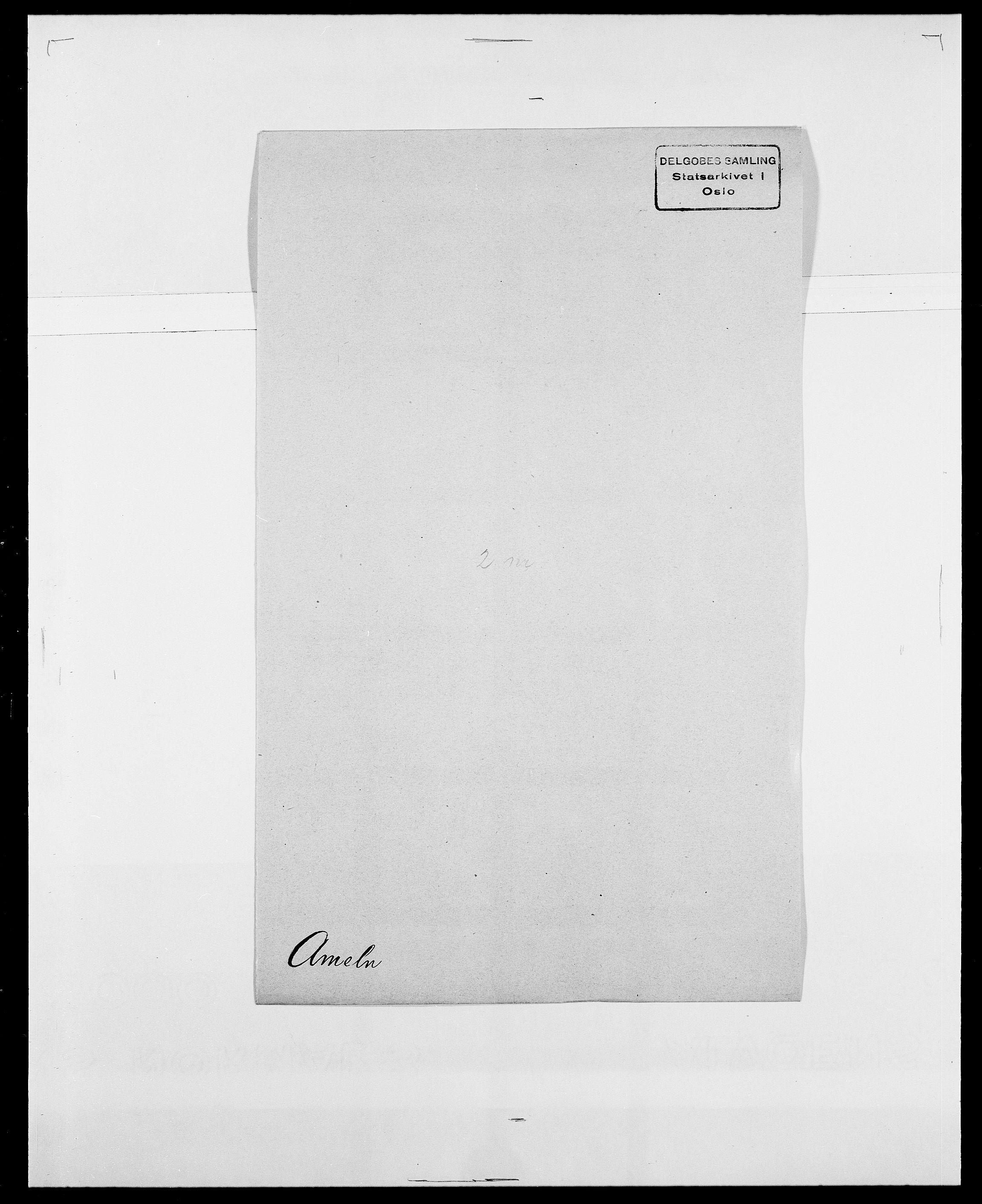 SAO, Delgobe, Charles Antoine - samling, D/Da/L0001: Aabye - Angerman, s. 532