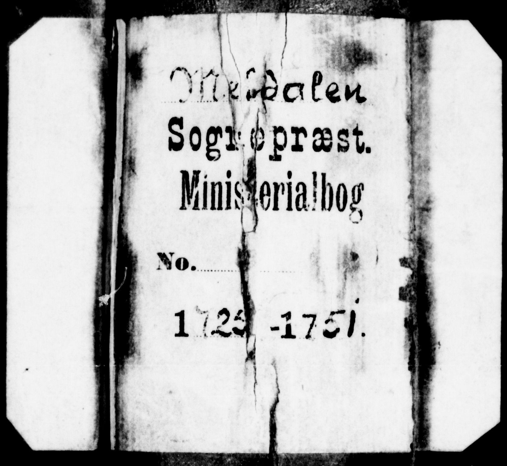 SAT, Ministerialprotokoller, klokkerbøker og fødselsregistre - Sør-Trøndelag, 672/L0850: Ministerialbok nr. 672A03, 1725-1751