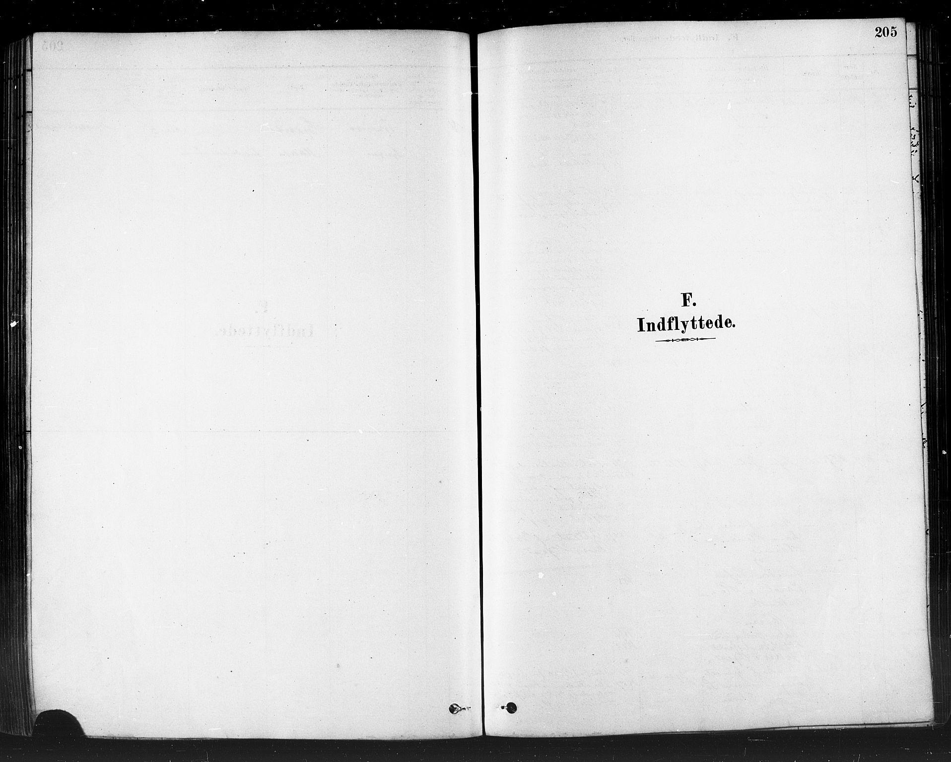 SATØ, Måsøy sokneprestkontor, H/Ha/L0004kirke: Ministerialbok nr. 4, 1878-1891, s. 205