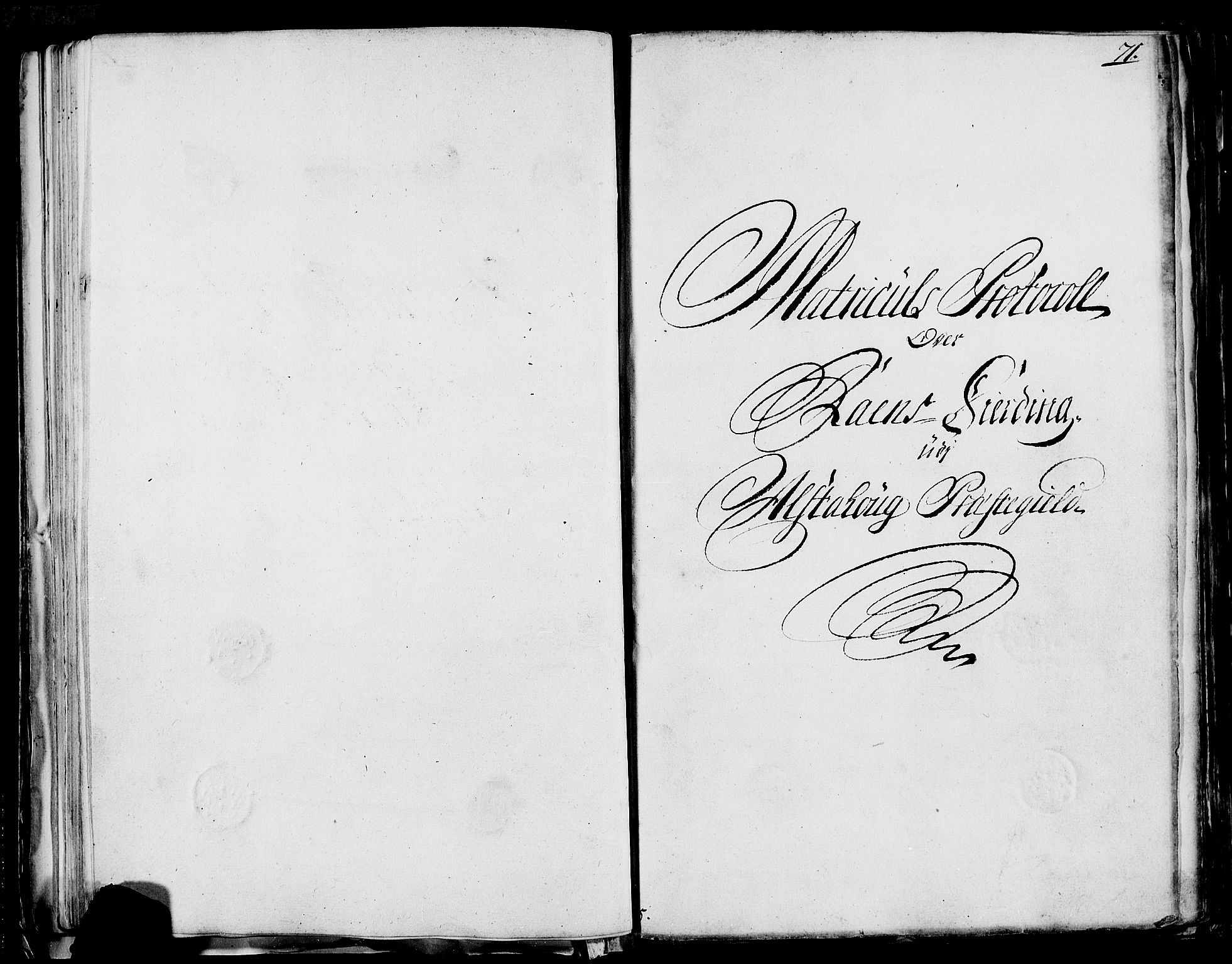RA, Rentekammeret inntil 1814, Realistisk ordnet avdeling, N/Nb/Nbf/L0170: Helgeland eksaminasjonsprotokoll, 1723, s. 70b-71a