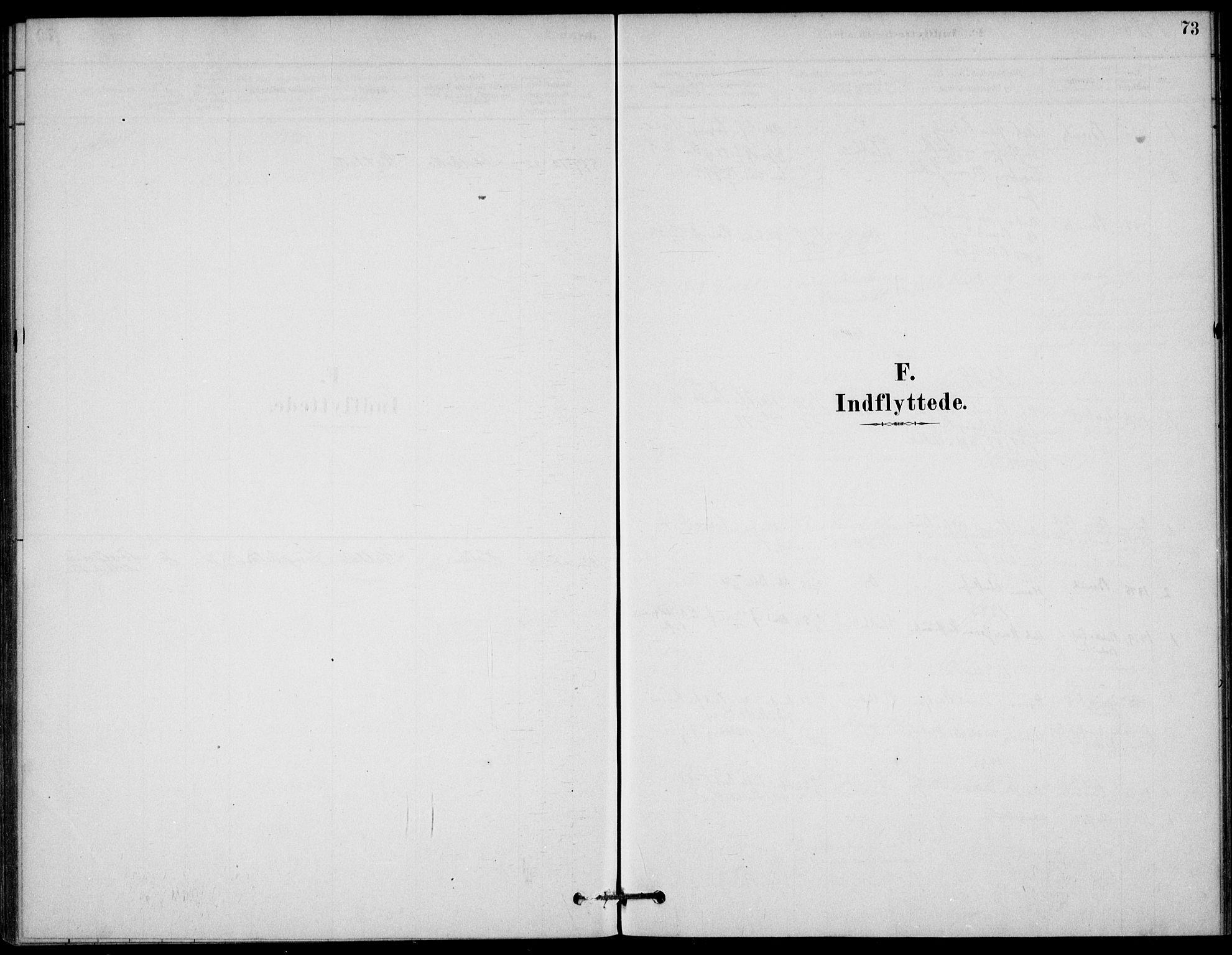 SAKO, Bamble kirkebøker, G/Gb/L0001: Klokkerbok nr. II 1, 1878-1900, s. 73