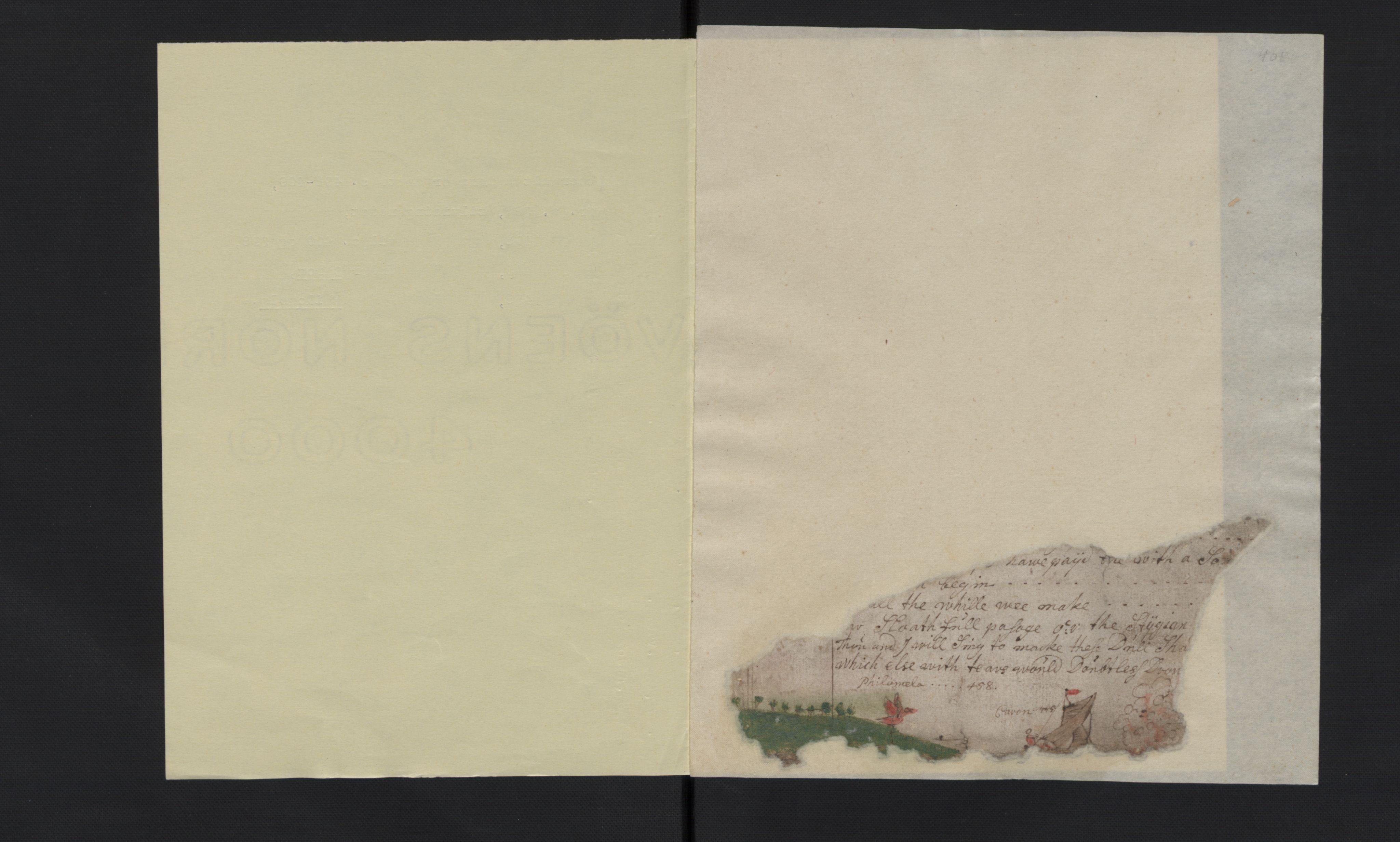 RA, Manuskriptsamlingen, G/L0048b: Nils Trosners dagbok ført på flåten 1710-1713 bd. II, 1710-1713, s. 520