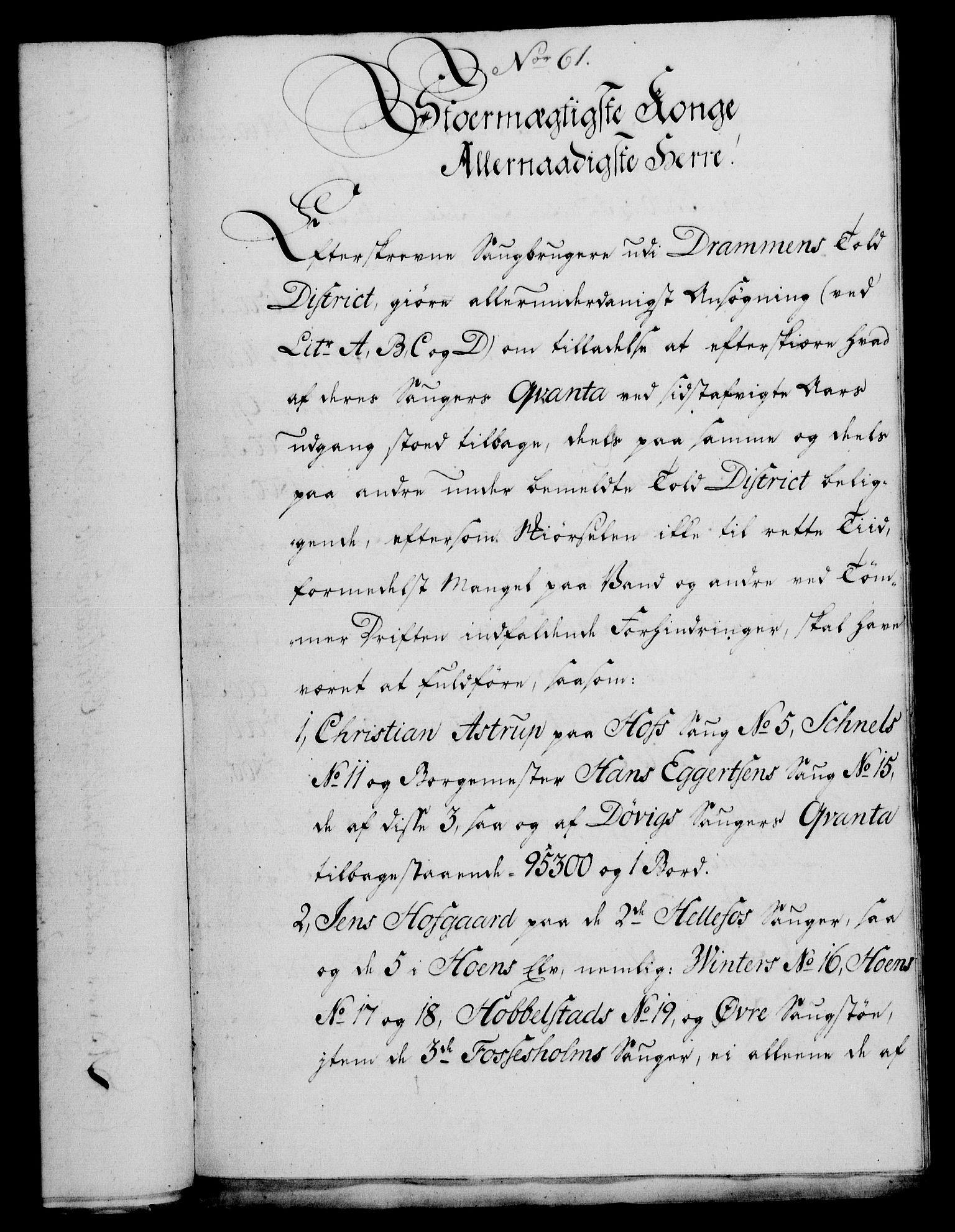 RA, Rentekammeret, Kammerkanselliet, G/Gf/Gfa/L0049: Norsk relasjons- og resolusjonsprotokoll (merket RK 52.49), 1767, s. 275