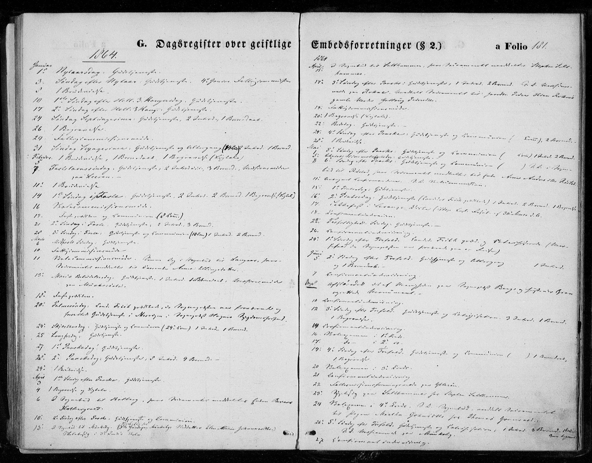 SAT, Ministerialprotokoller, klokkerbøker og fødselsregistre - Nord-Trøndelag, 721/L0206: Ministerialbok nr. 721A01, 1864-1874, s. 181