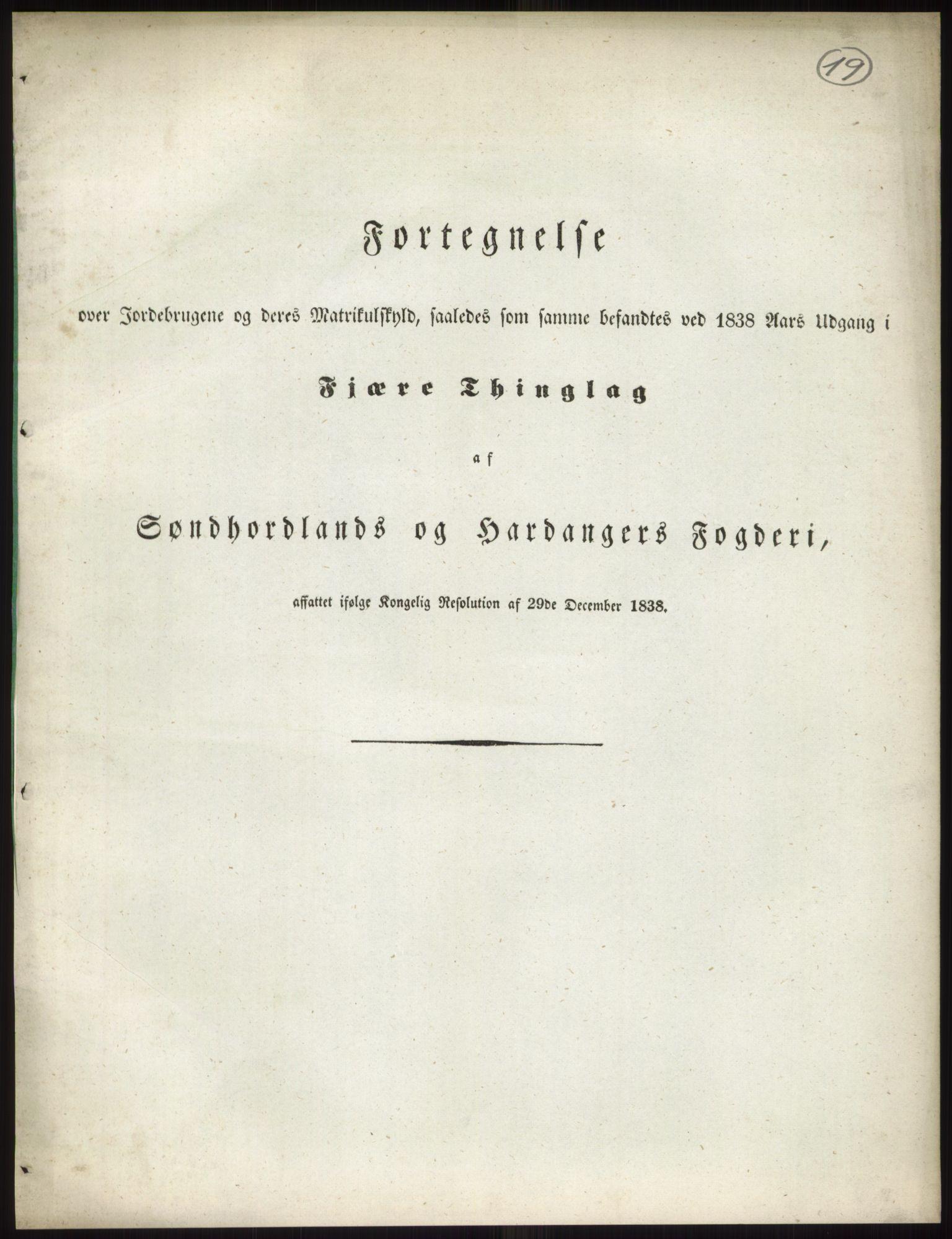 RA, 1838-matrikkelen (publikasjon)*, 1838, s. 19