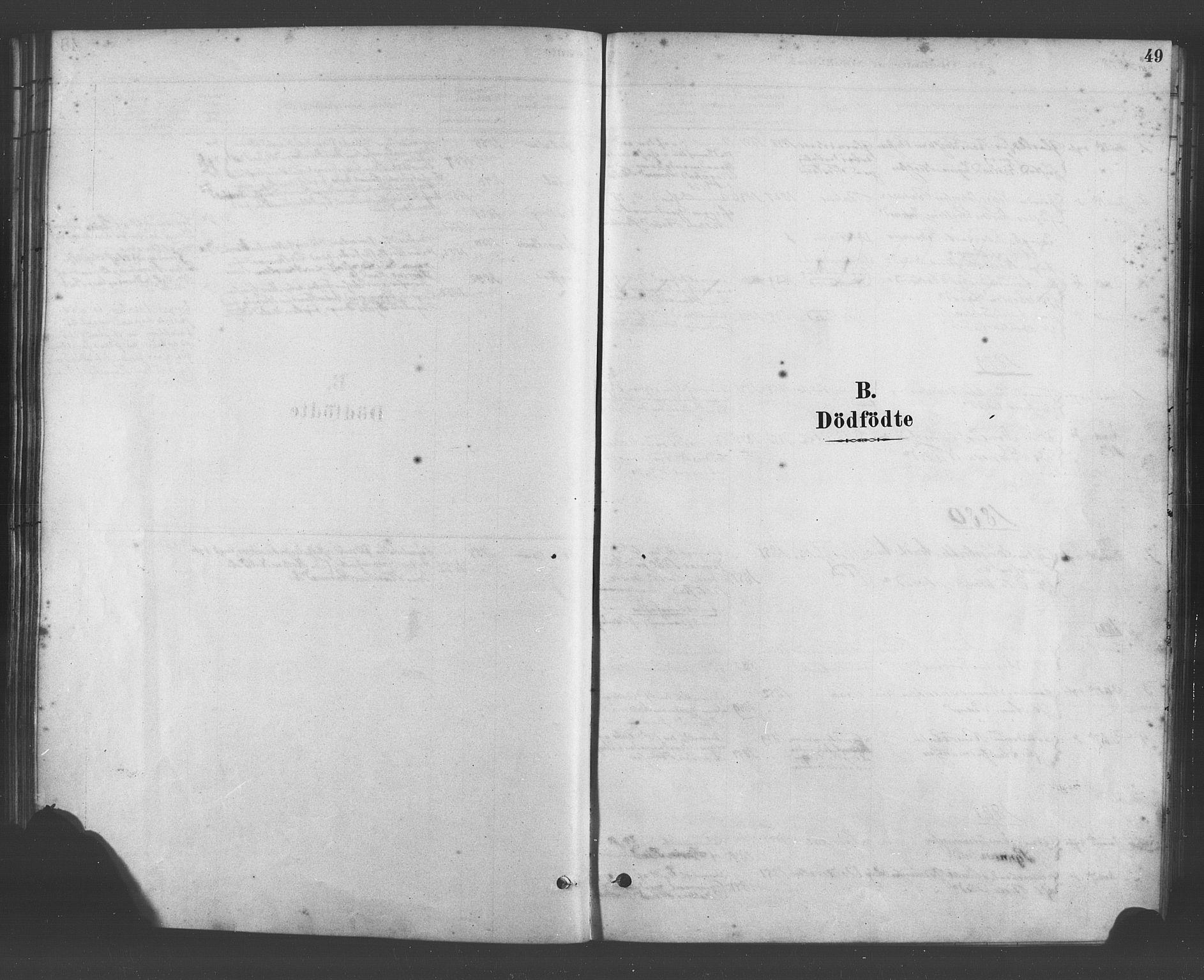 SAB, Fana Sokneprestembete, H/Haa/Haab/L0001: Ministerialbok nr. B 1, 1878-1889, s. 49