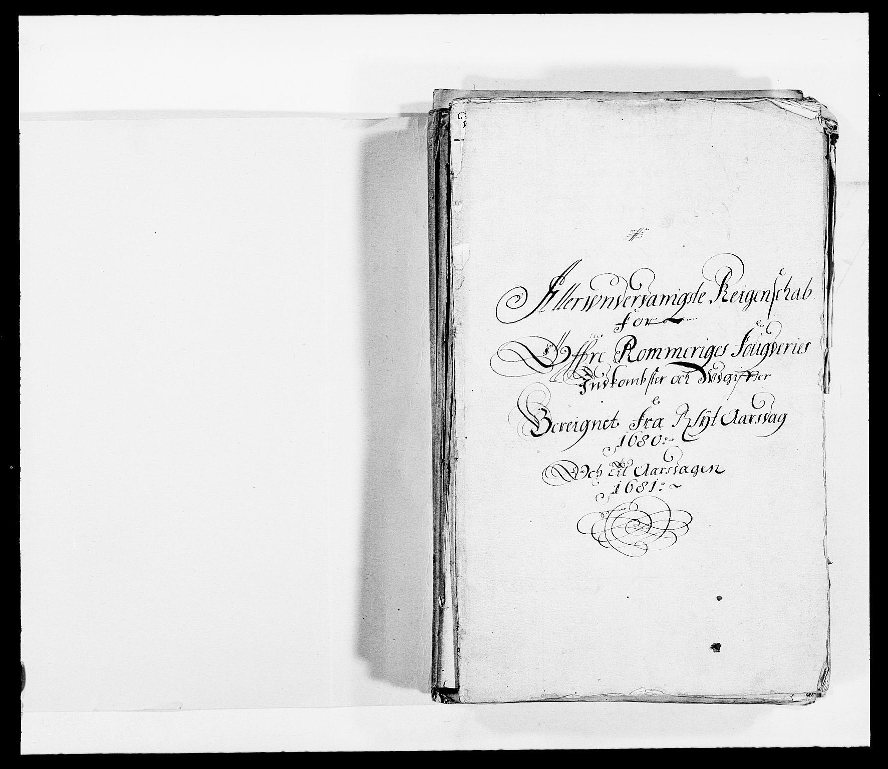 RA, Rentekammeret inntil 1814, Reviderte regnskaper, Fogderegnskap, R12/L0695: Fogderegnskap Øvre Romerike, 1680, s. 2