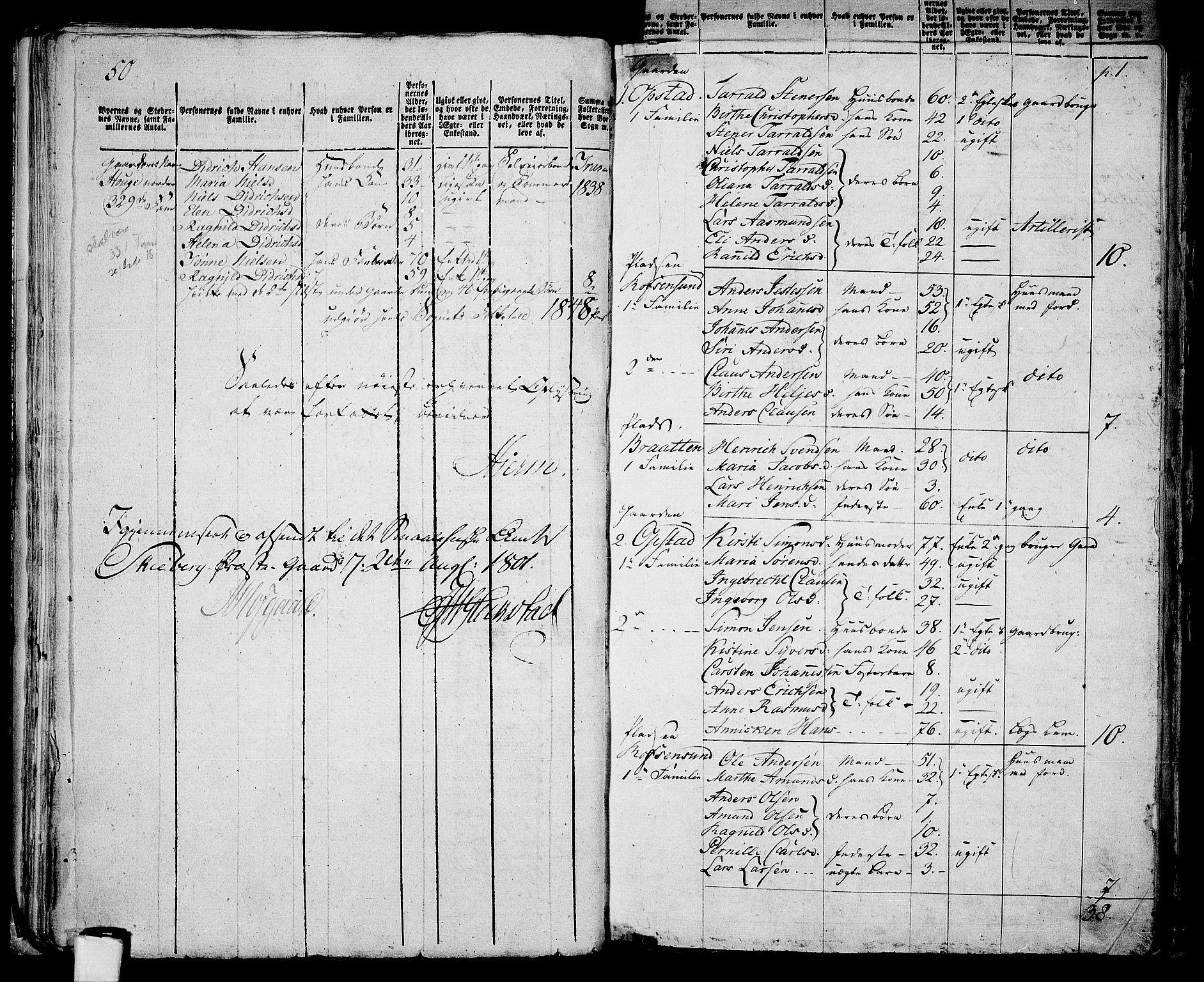 RA, Folketelling 1801 for 0130P Tune prestegjeld, 1801, s. 185b-186a