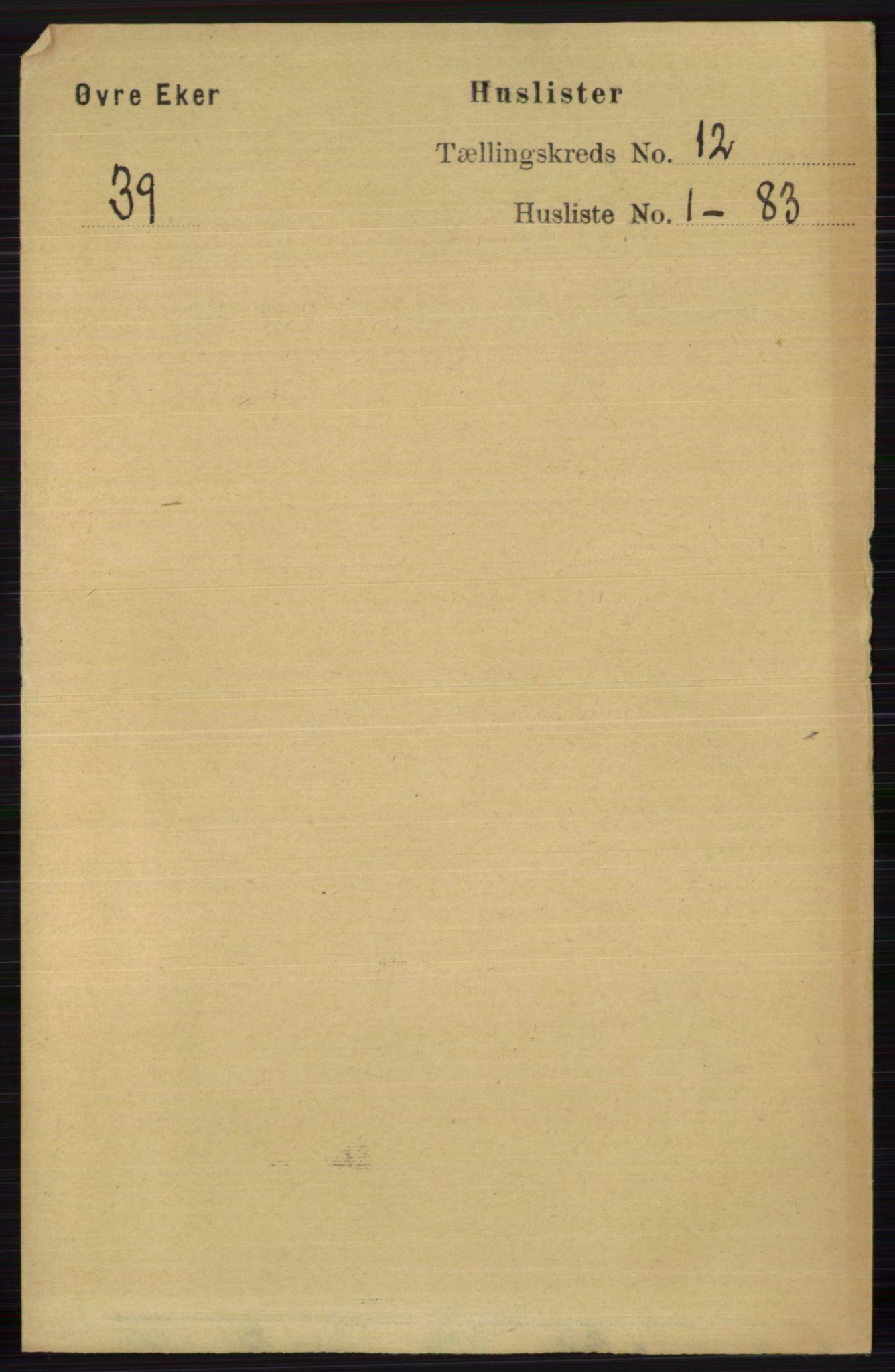 RA, Folketelling 1891 for 0624 Øvre Eiker herred, 1891, s. 5194